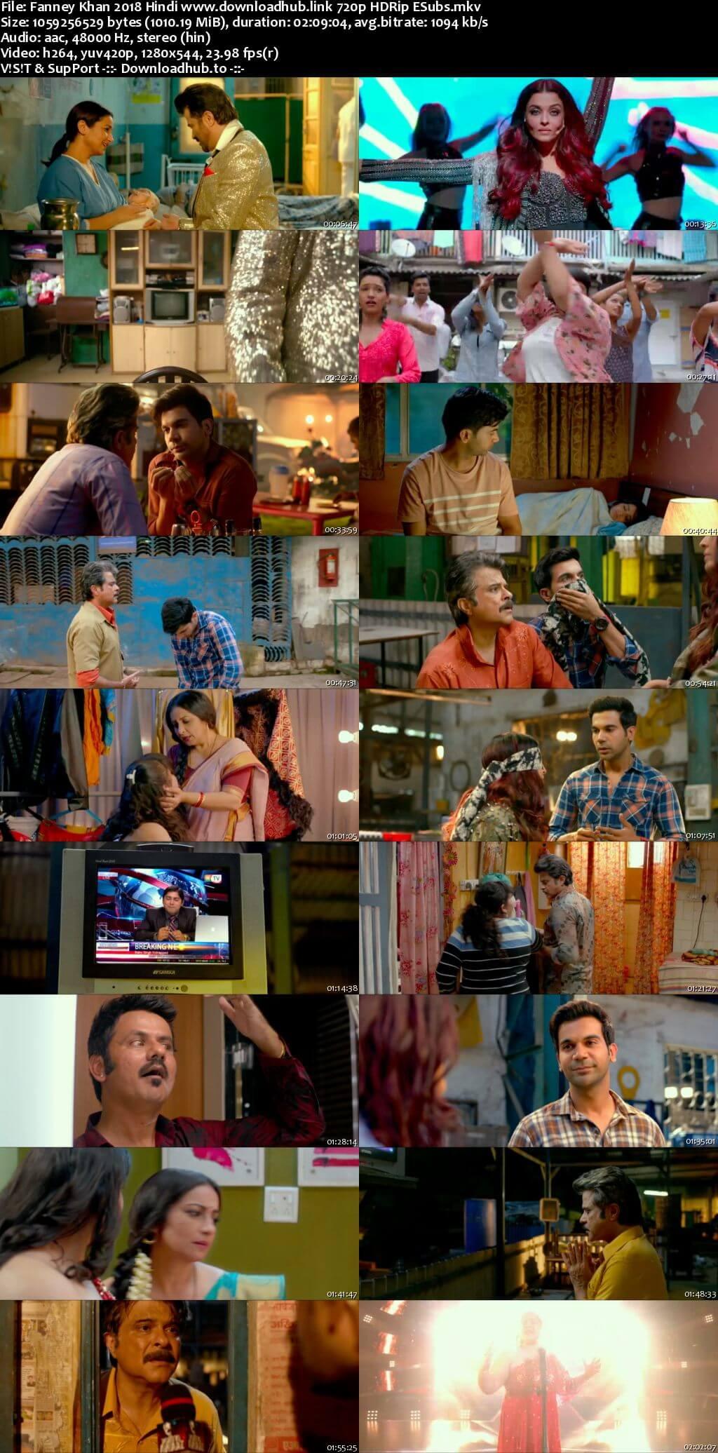 Fanney Khan 2018 Hindi 720p HDRip ESubs