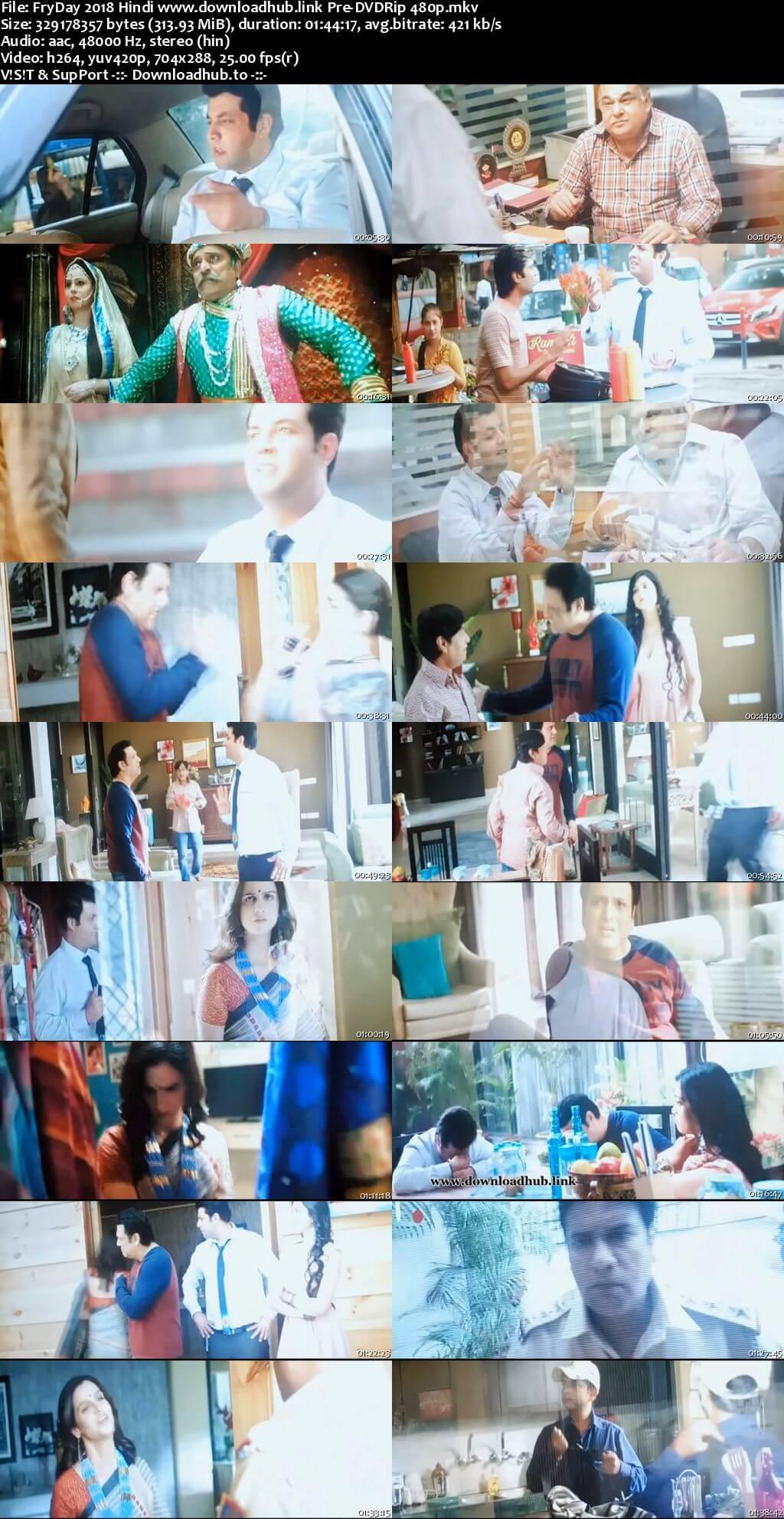 FryDay 2018 Hindi 300MB Pre-DVDRip 480p
