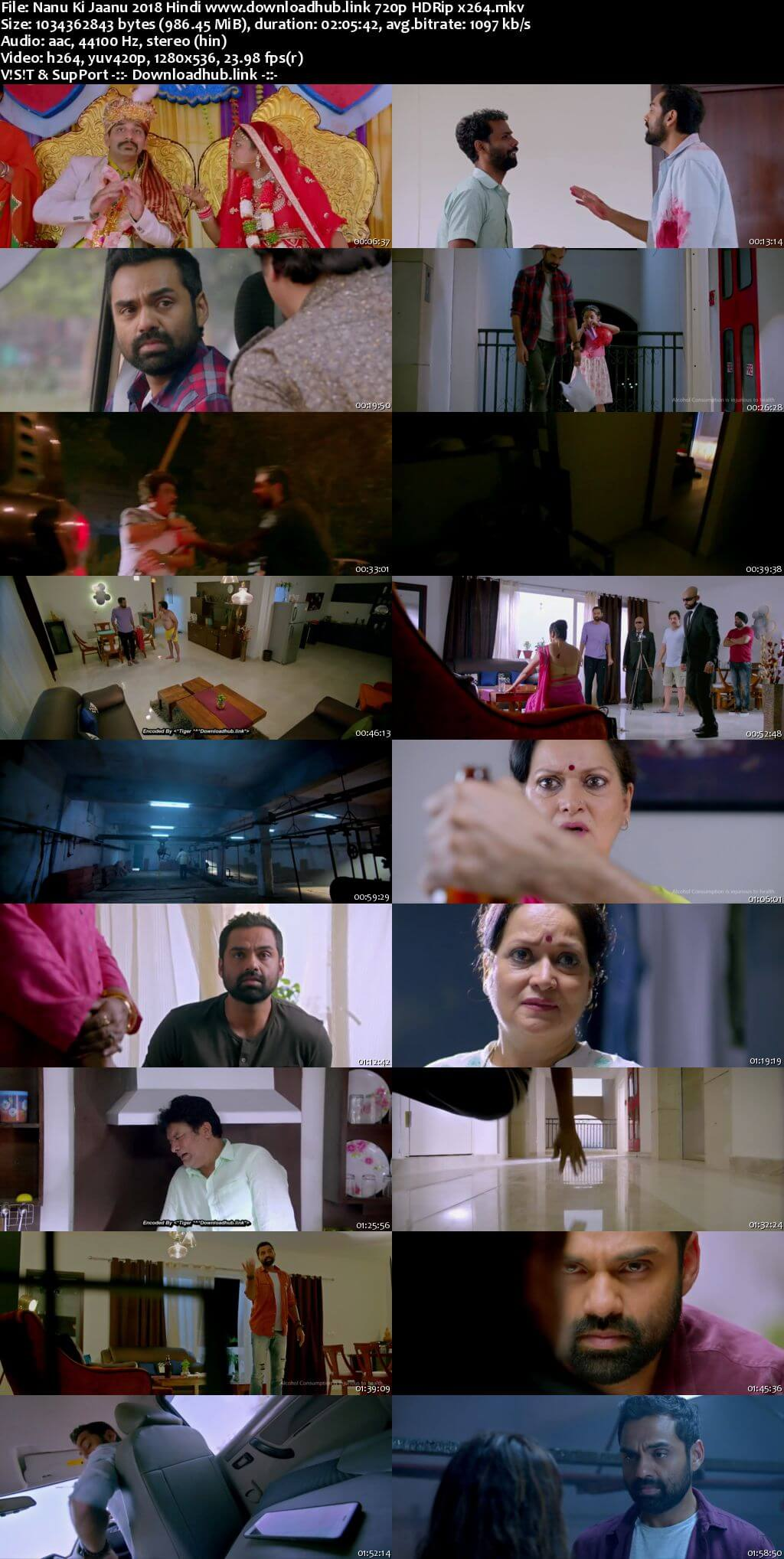 Nanu Ki Jaanu 2018 Hindi 720p HDRip x264
