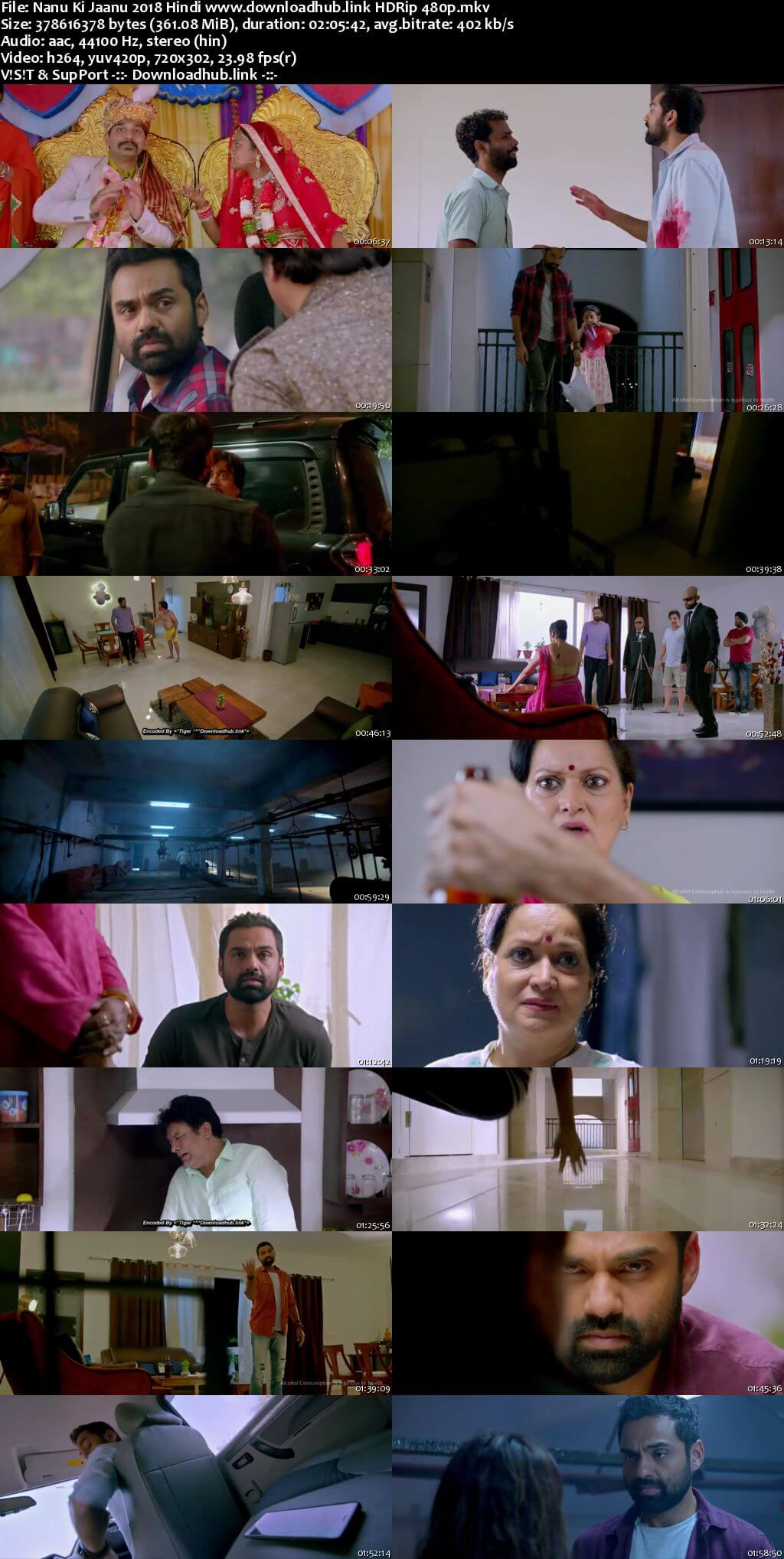 Nanu Ki Jaanu 2018 Hindi 350MB HDRip 480p