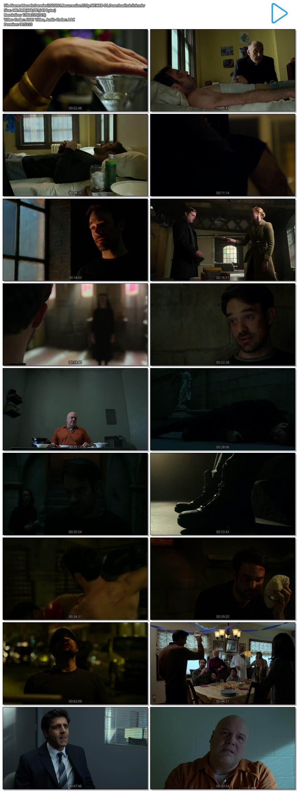 Marvels Daredevil S03E01 450MB NF WEB-DL 720p MSubs