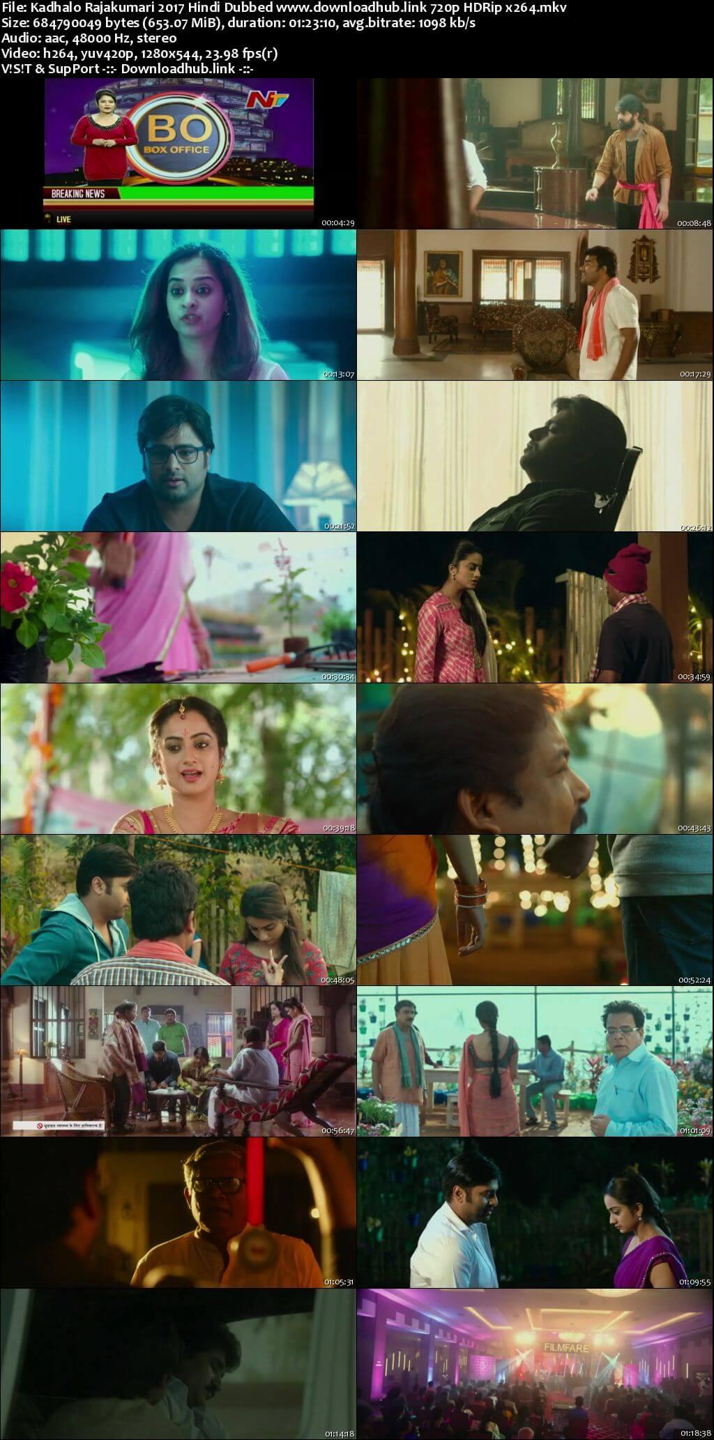 Kadhalo Rajakumari 2017 Hindi Dubbed 720p HDRip x264
