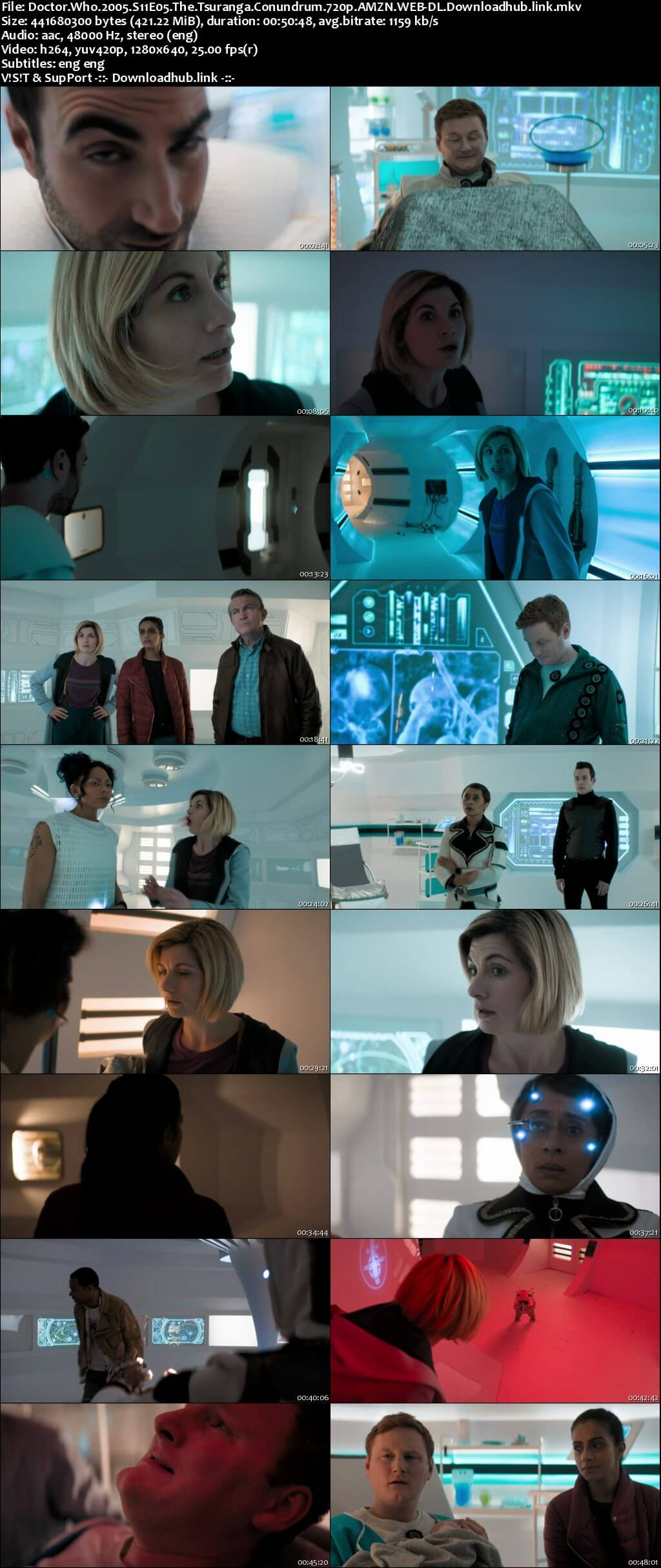 Doctor Who S11E05 400MB AMZN WEB-DL 720p ESubs