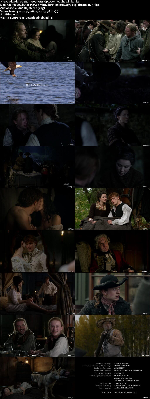 Outlander S04E01 500MB WEBRip 720p ESubs