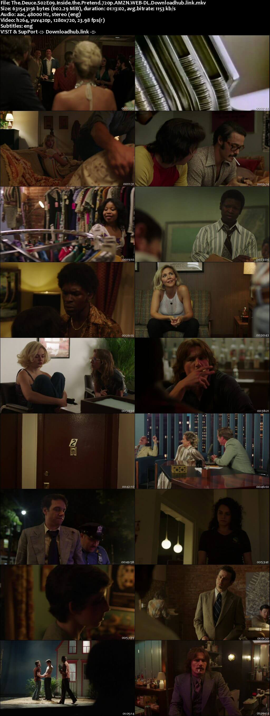 The Deuce S02E09 600MB AMZN WEB-DL 720p ESubs