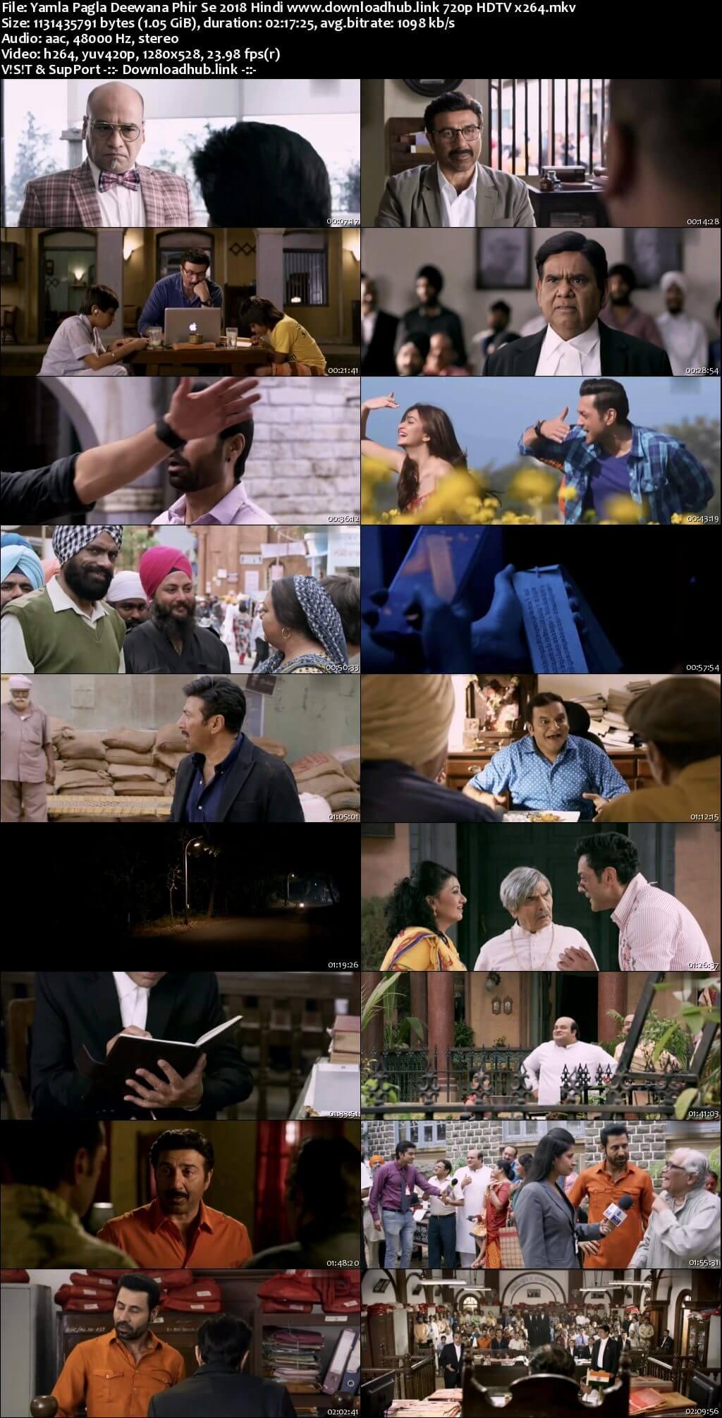 Yamla Pagla Deewana Phir Se 2018 Hindi 720p HDTV x264
