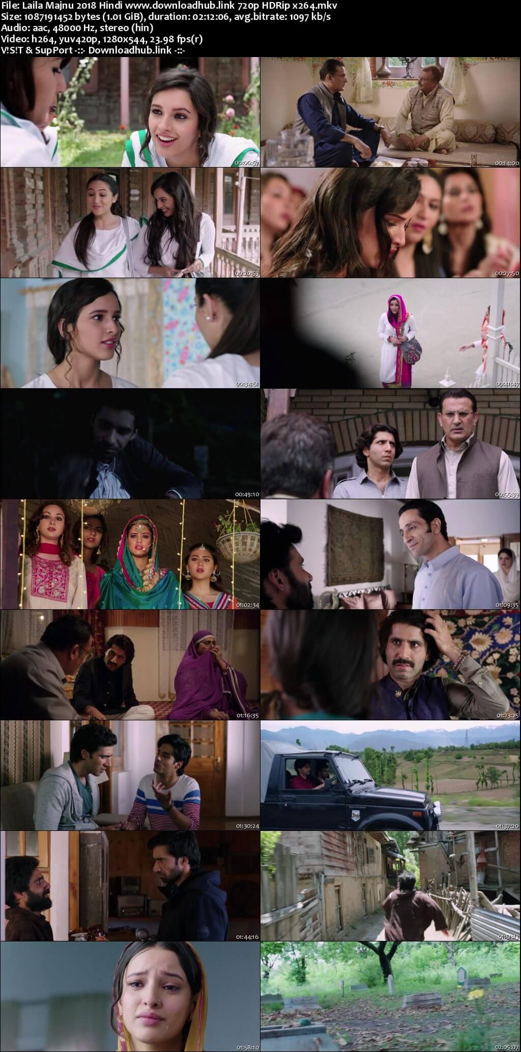 Laila Majnu 2018 Hindi 720p HDRip x264