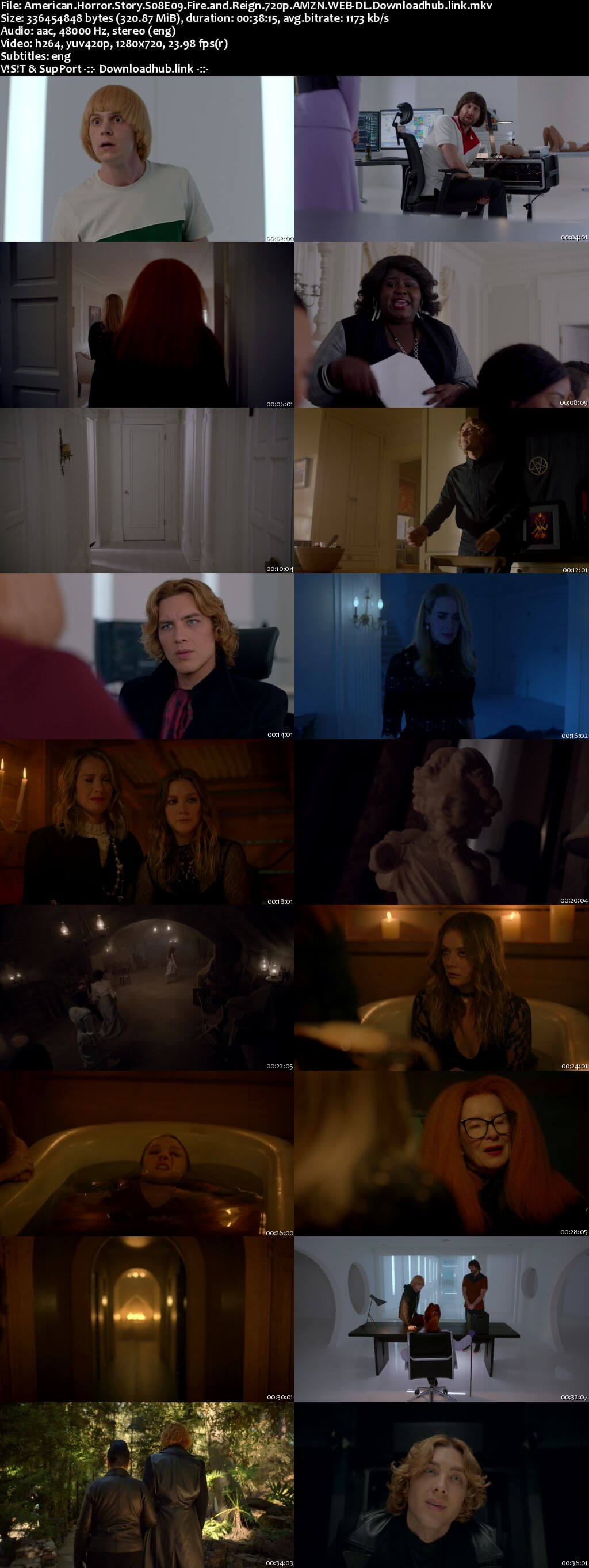 American Horror Story S08E09 300MB AMZN WEB-DL 720p ESubs