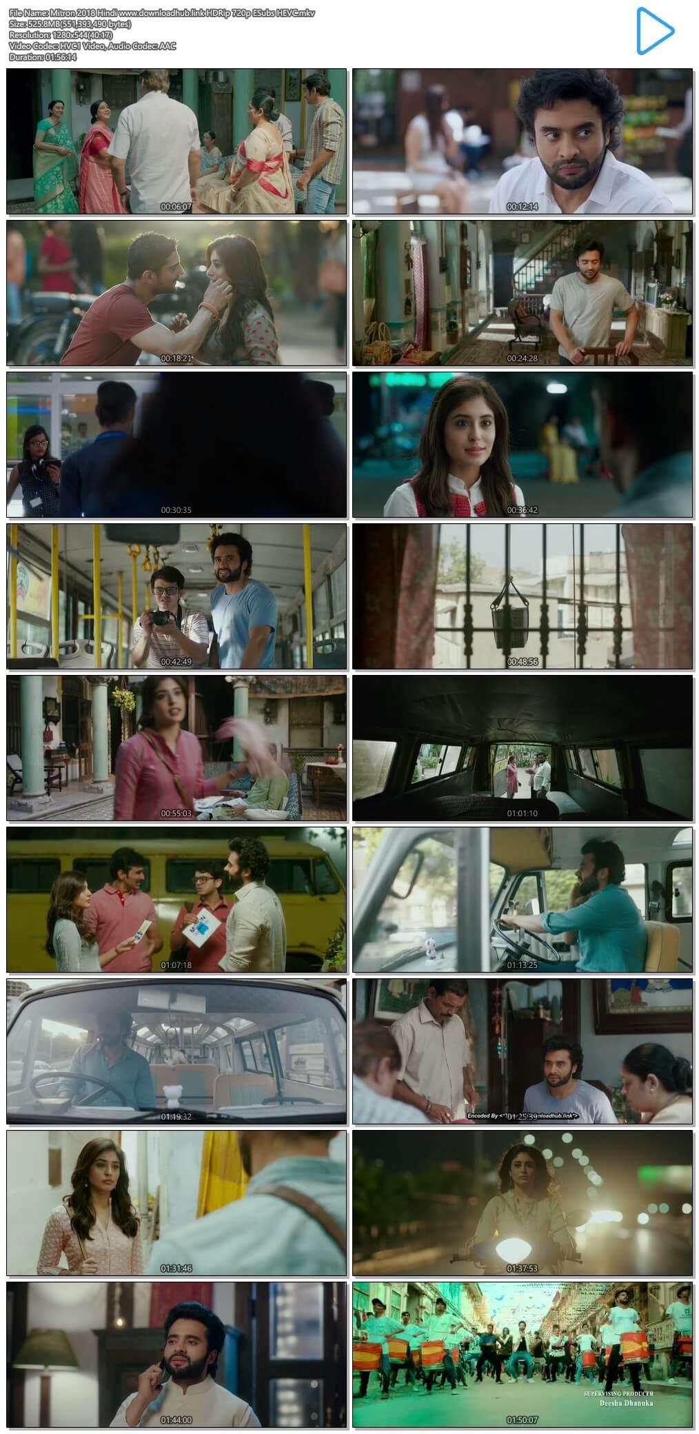 Mitron 2018 Hindi 500MB HDRip 720p ESubs HEVC