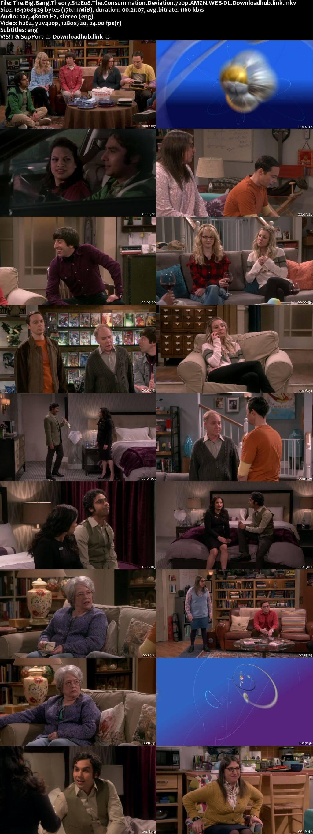 The Big Bang Theory S12E08 170MB AMZN WEB-DL 720p ESubs