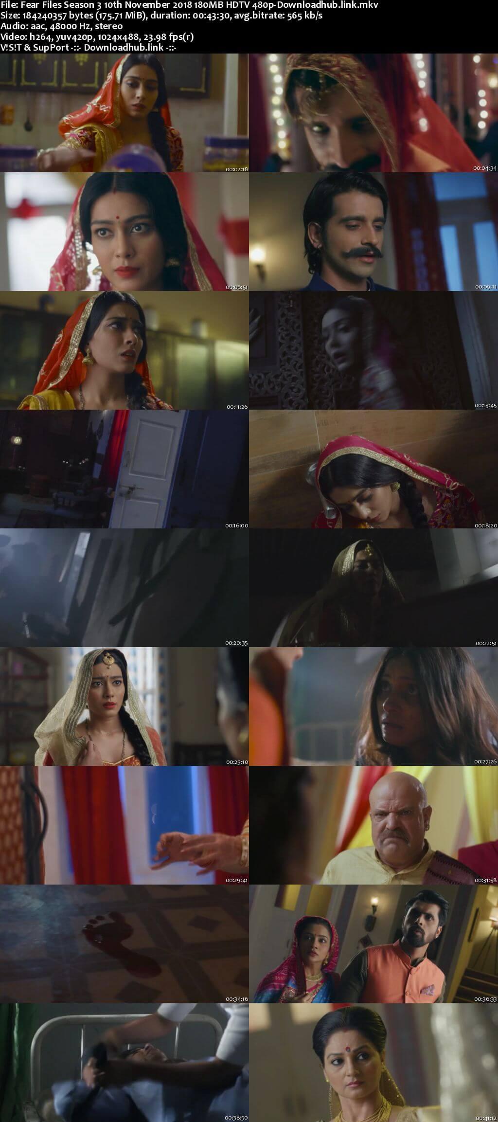 Fear Files Season 3 10th November 2018 180MB HDTV 480p
