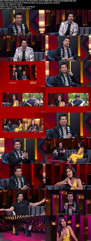 Koffee With Karan 6 11 November 2018 Episode 04 HDTV 480p