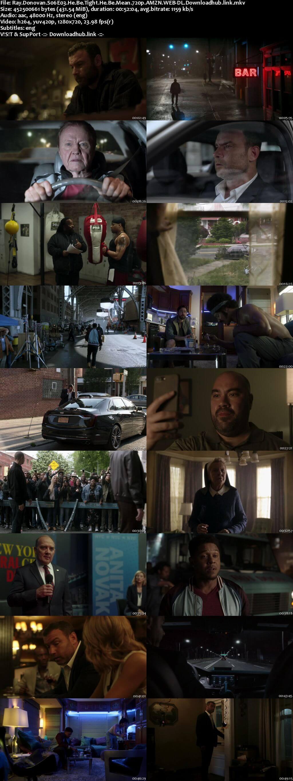 Ray Donovan S06E03 400MB AMZN WEB-DL 720p ESubs