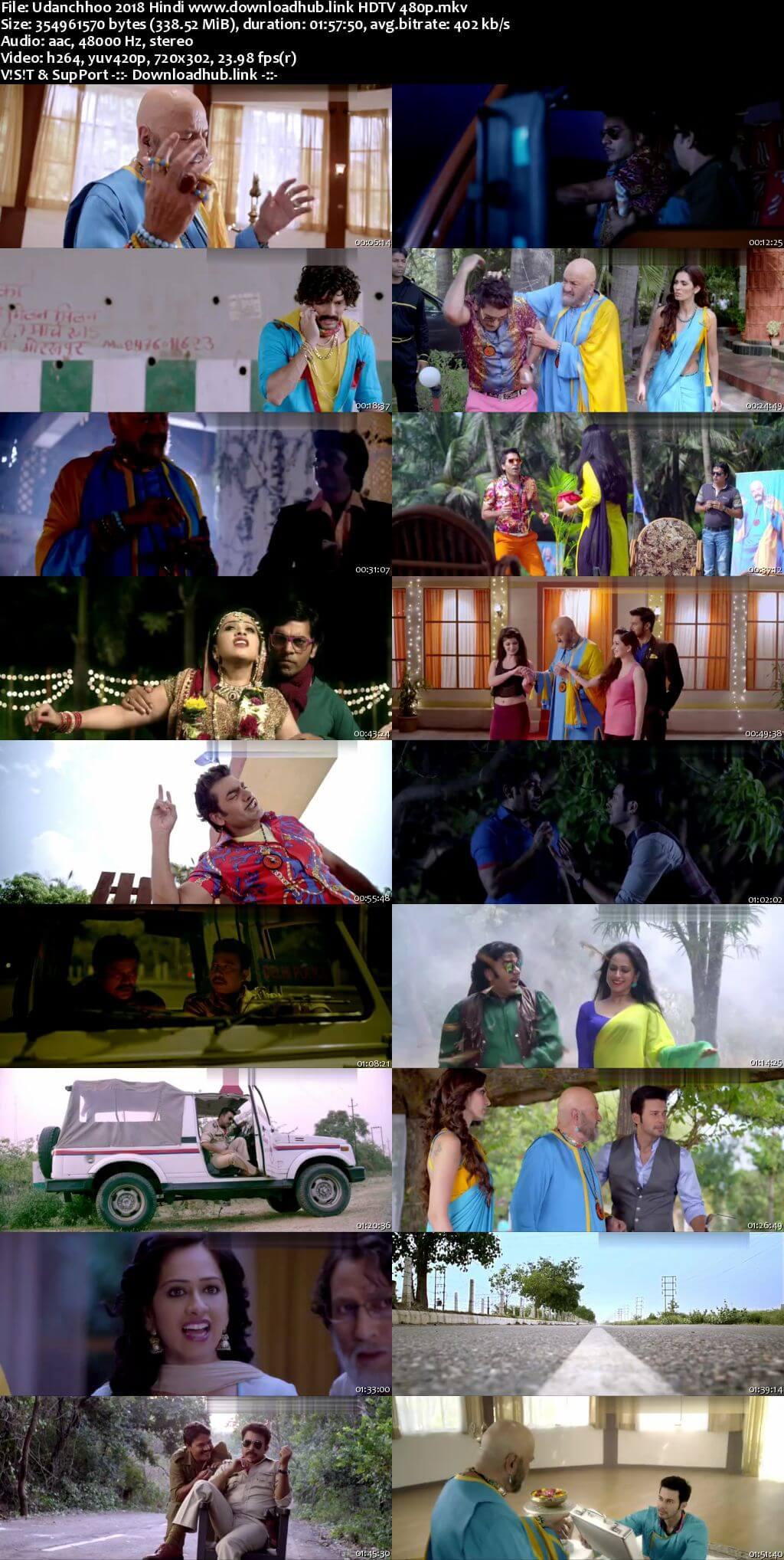 Udanchhoo 2018 Hindi 300MB HDTV 480p