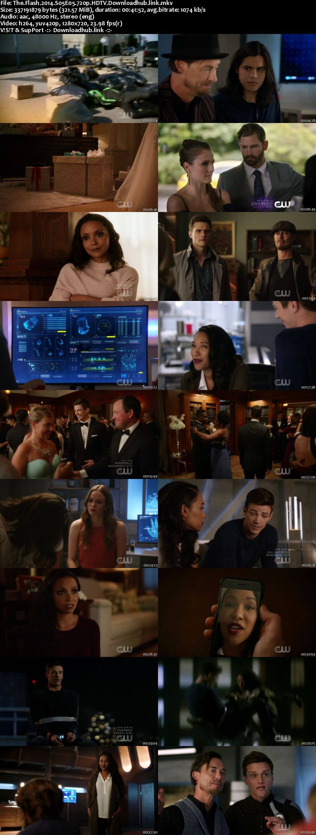 The Flash S05E05 300MB HDTV 720p x264