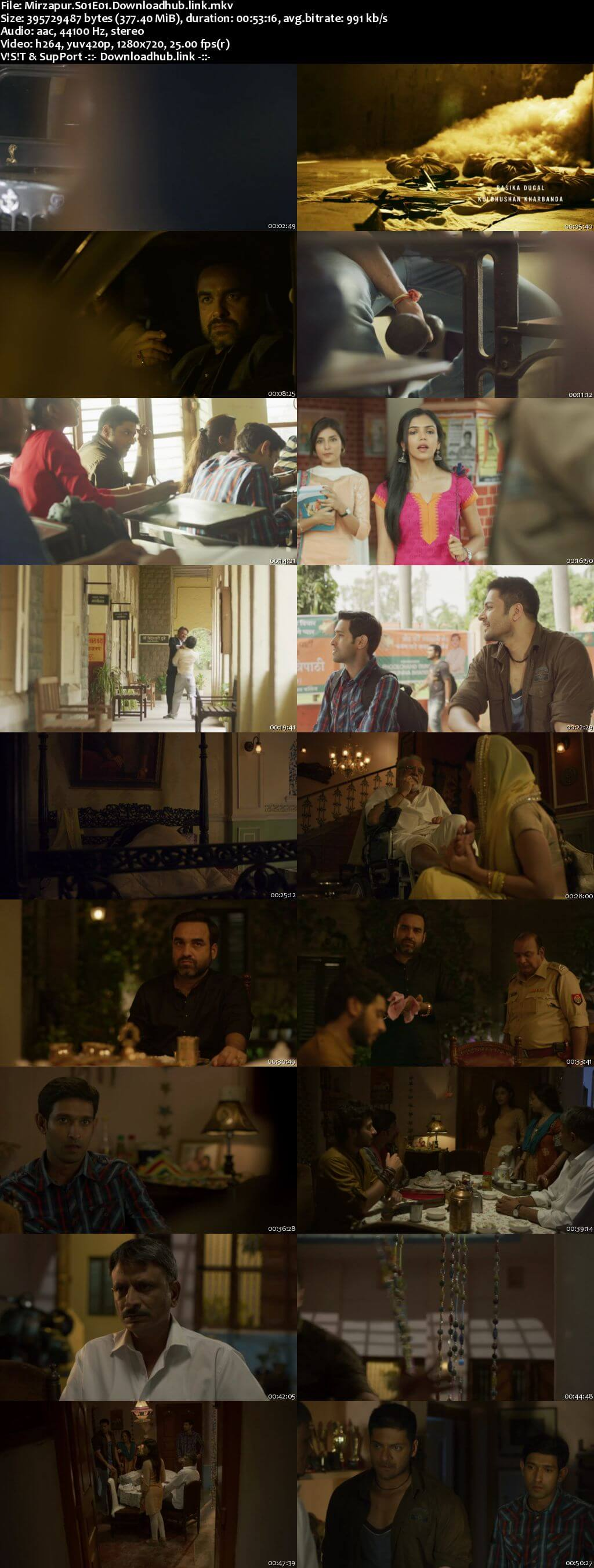 Mirzapur 2018 Hindi Season 01 Complete 720p HDRip x264