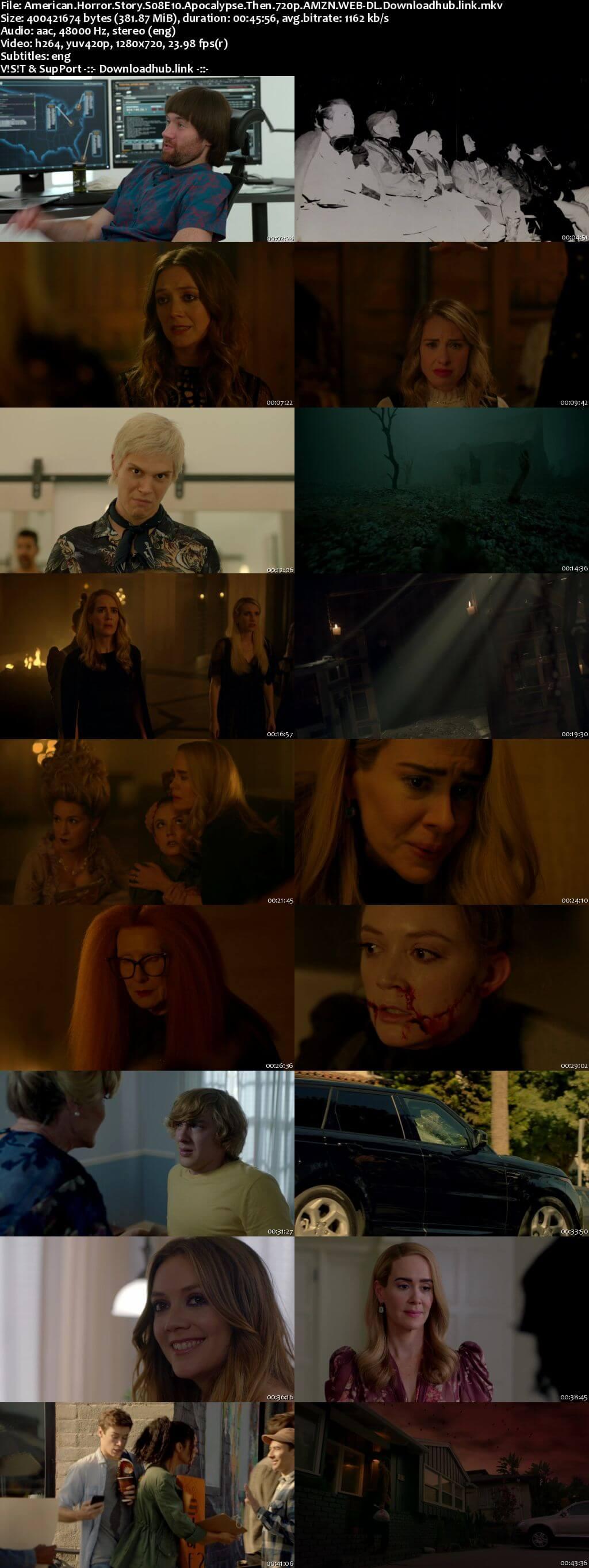 American Horror Story S08E10 350MB AMZN WEB-DL 720p ESubs