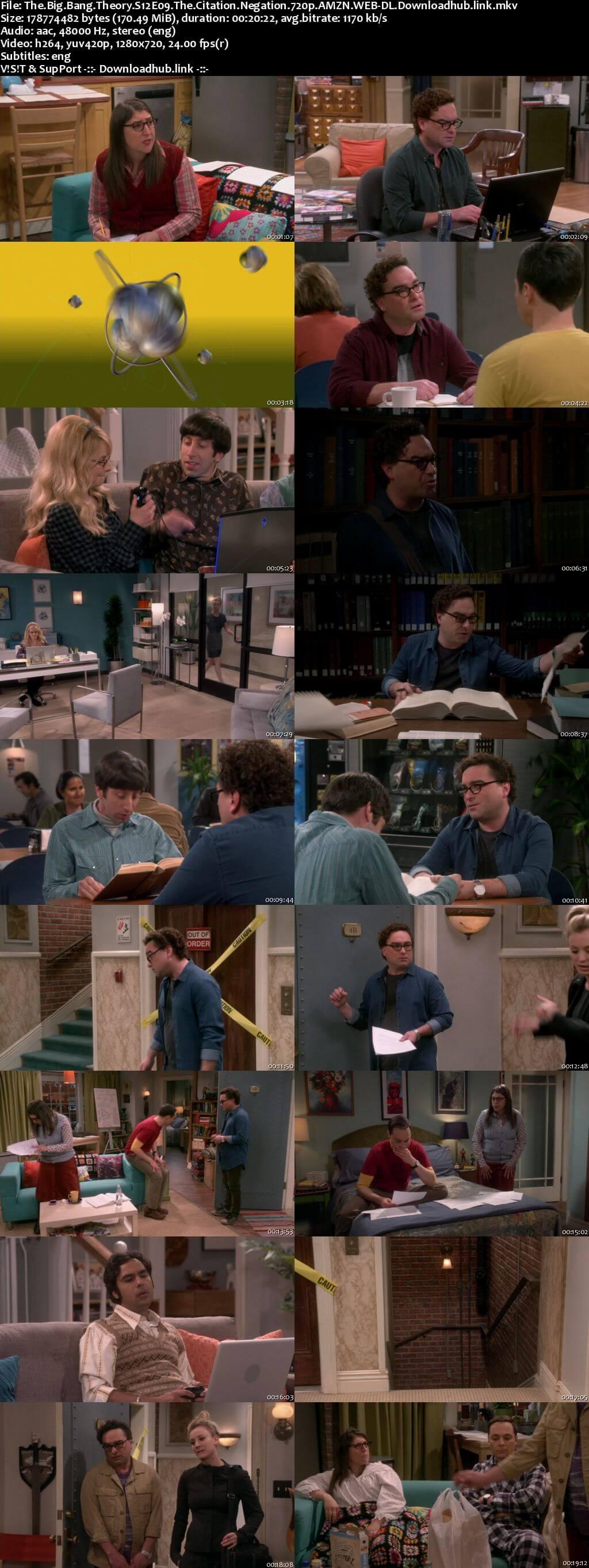 The Big Bang Theory S12E09 170MB AMZN WEB-DL 720p ESubs