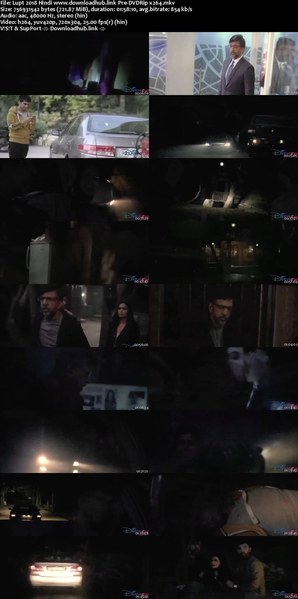 Lupt 2018 Hindi 700MB Pre-DVDRip x264