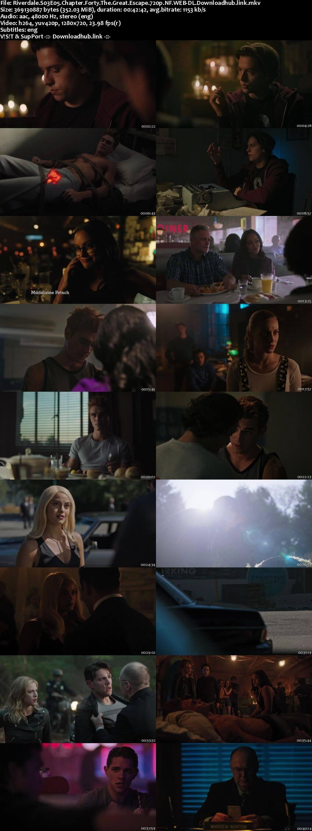 Riverdale S03E05 350MB NF WEB-DL 720p ESubs