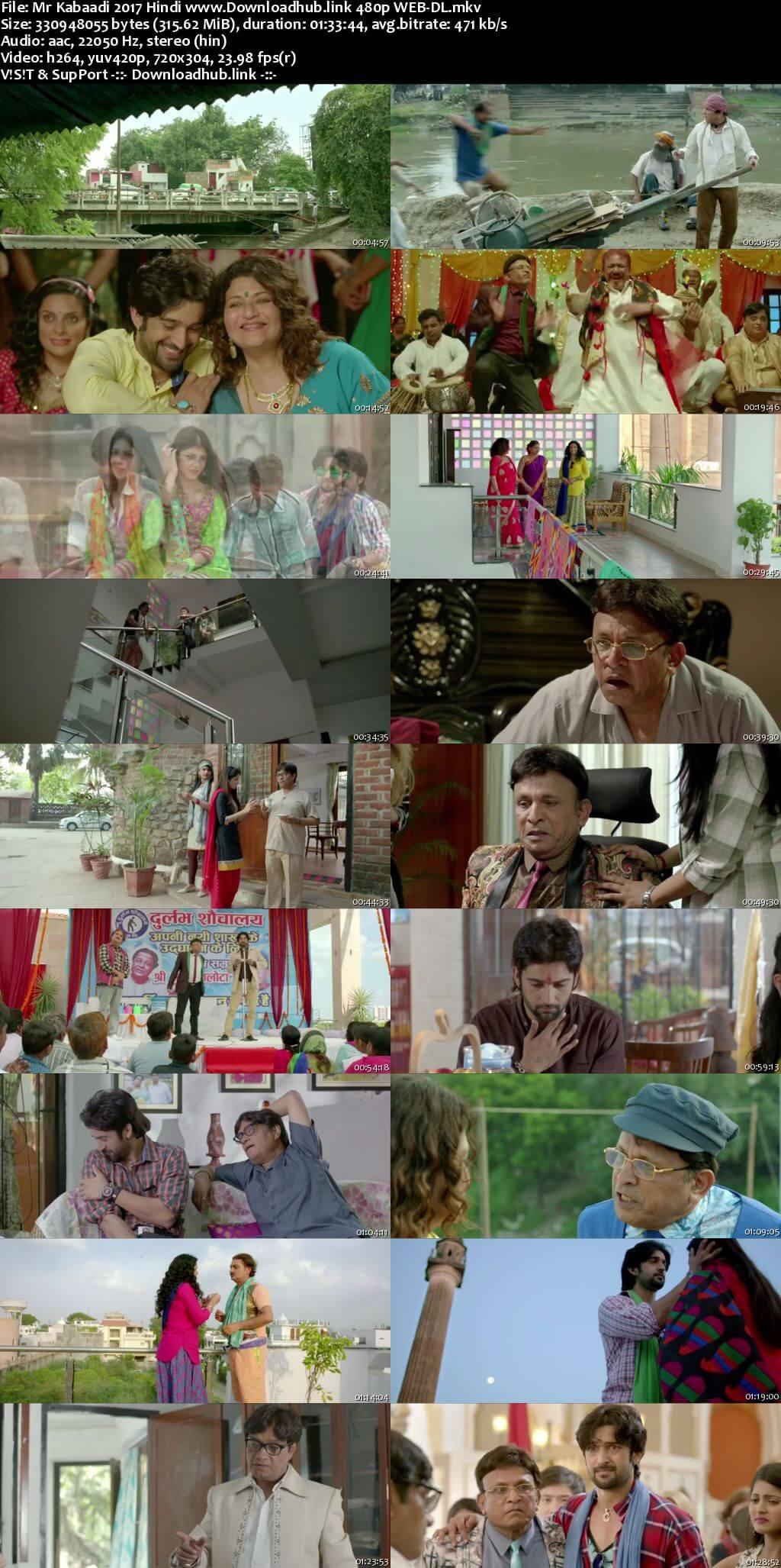 Mr Kabaadi 2017 Hindi 300MB HDRip 480p