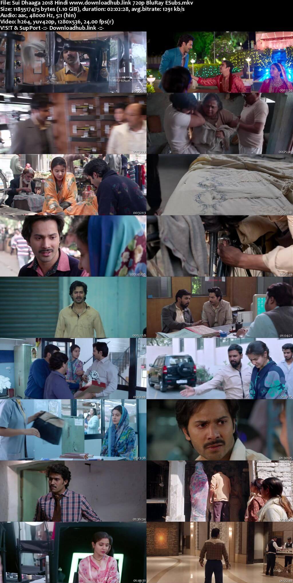 Sui Dhaaga 2018 Hindi 720p BluRay ESubs