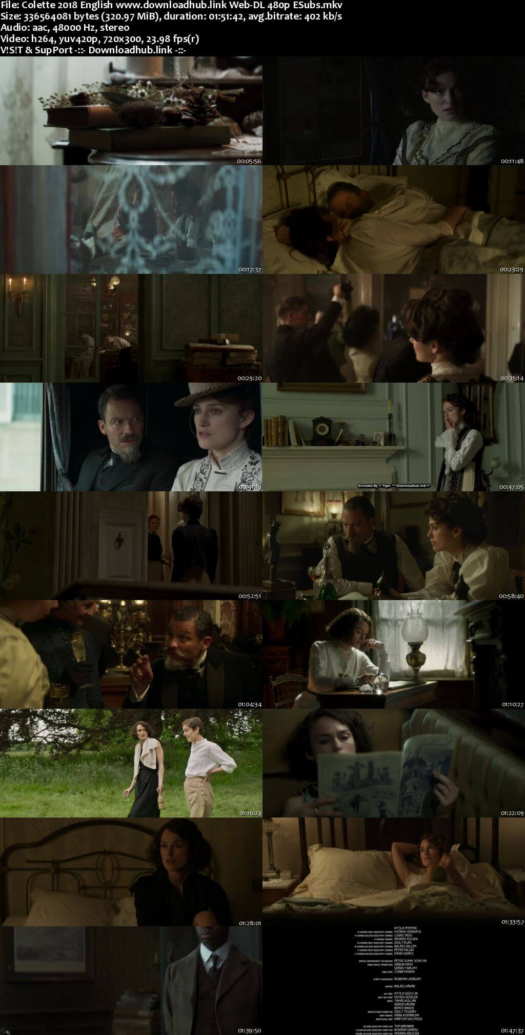 Colette 2018 English 300MB Web-DL 480p ESubs