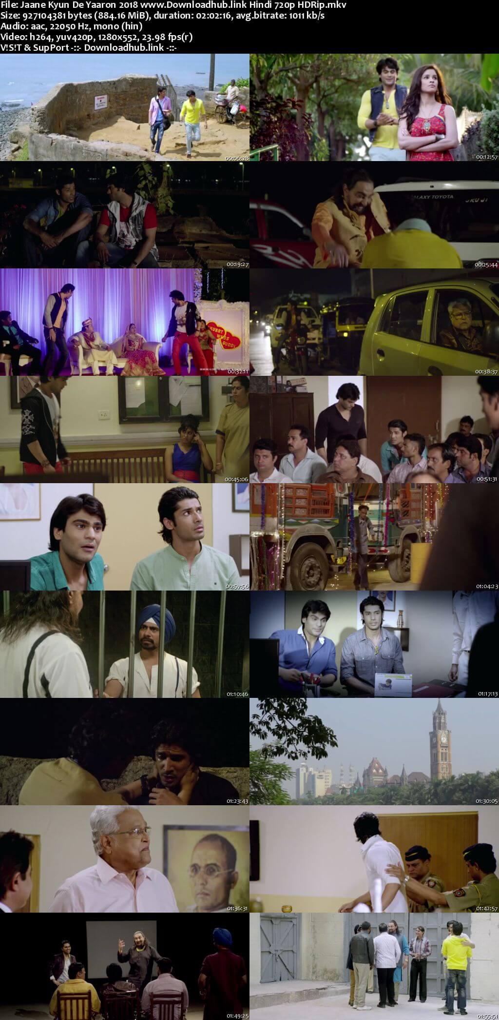 Jaane kyun de yaaron 2018 Hindi 720p HDRip x264