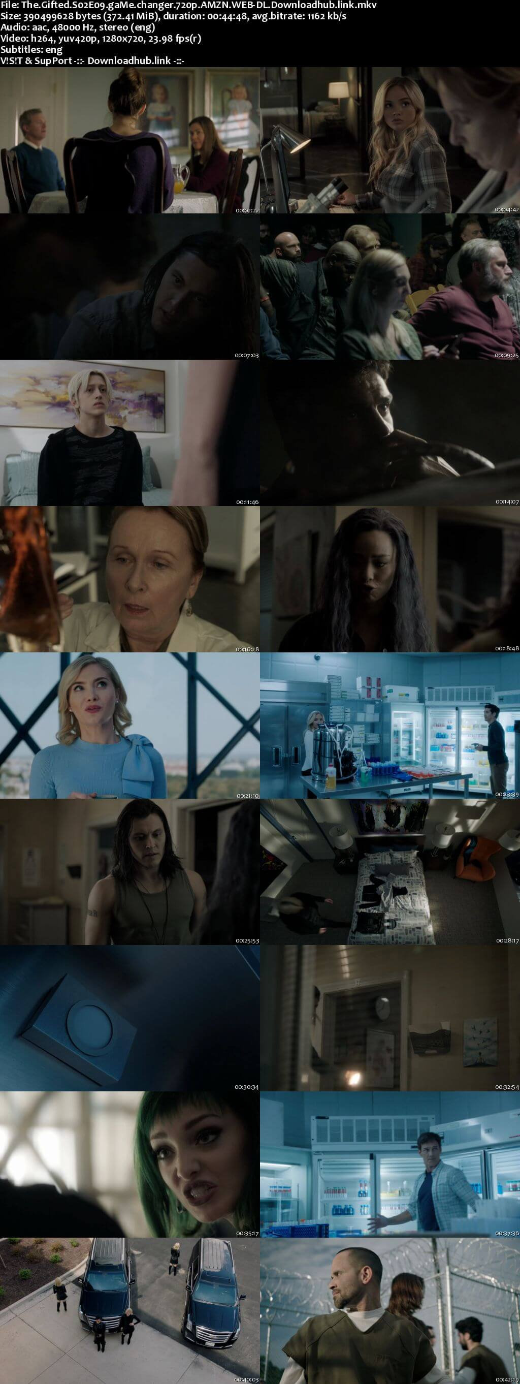 The Gifted S02E09 350MB AMZN WEB-DL 720p ESubs