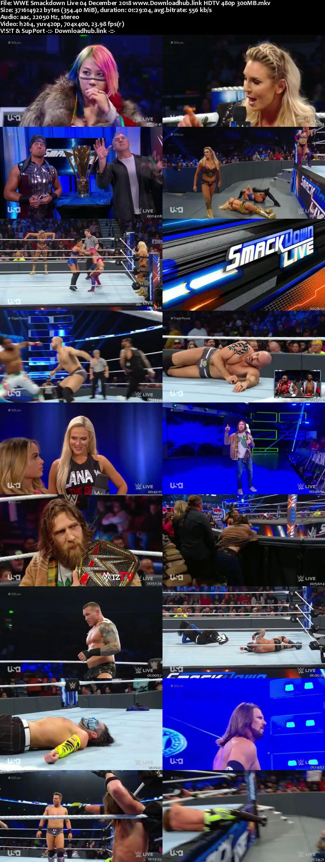 WWE Smackdown Live 4th December 2018 300MB HDTV 480p