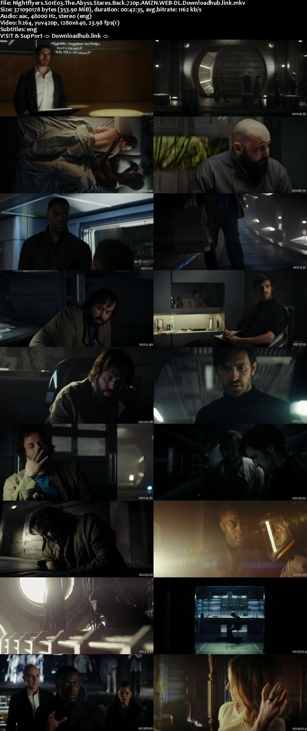 Nightflyers S01E03 350MB AMZN WEB-DL 720p ESubs