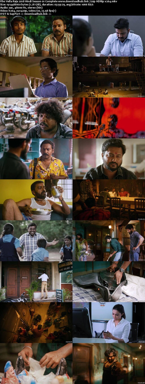 Vella Raja 2018 Hindi Season 01 Complete 720p HDRip x264