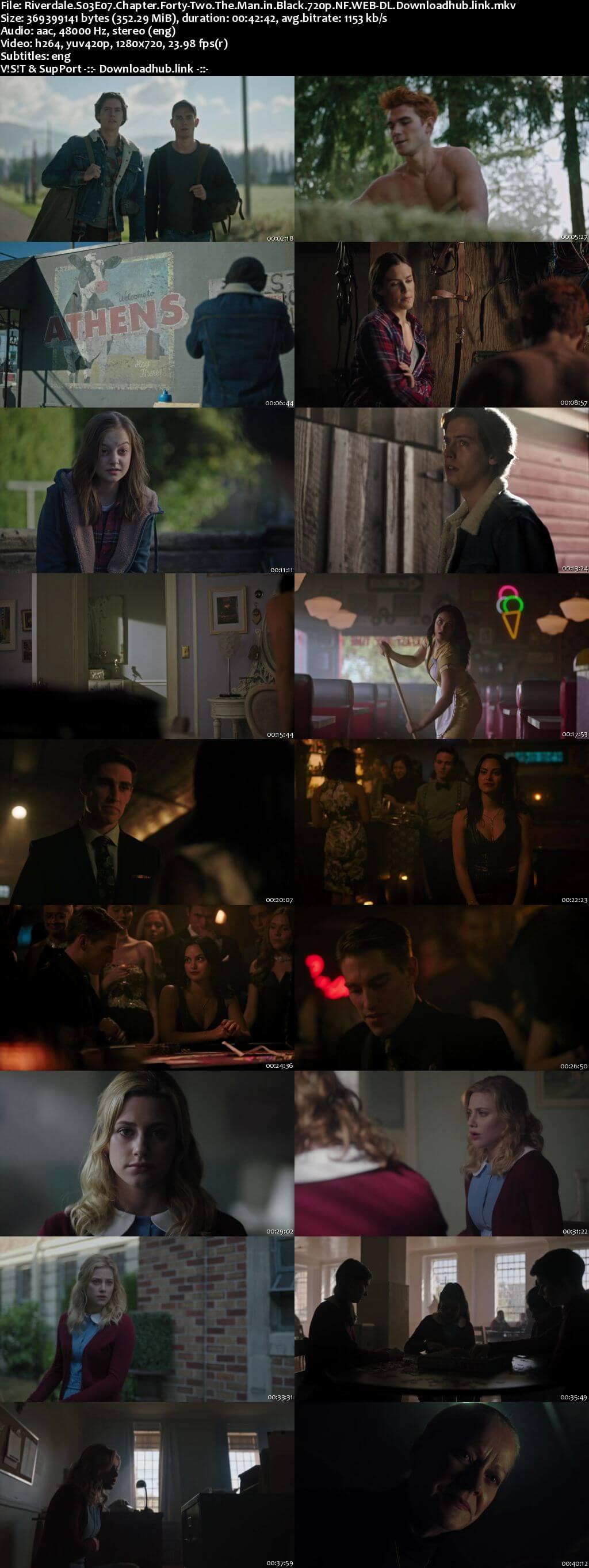 Riverdale S03E07 350MB NF WEB-DL 720p ESubs