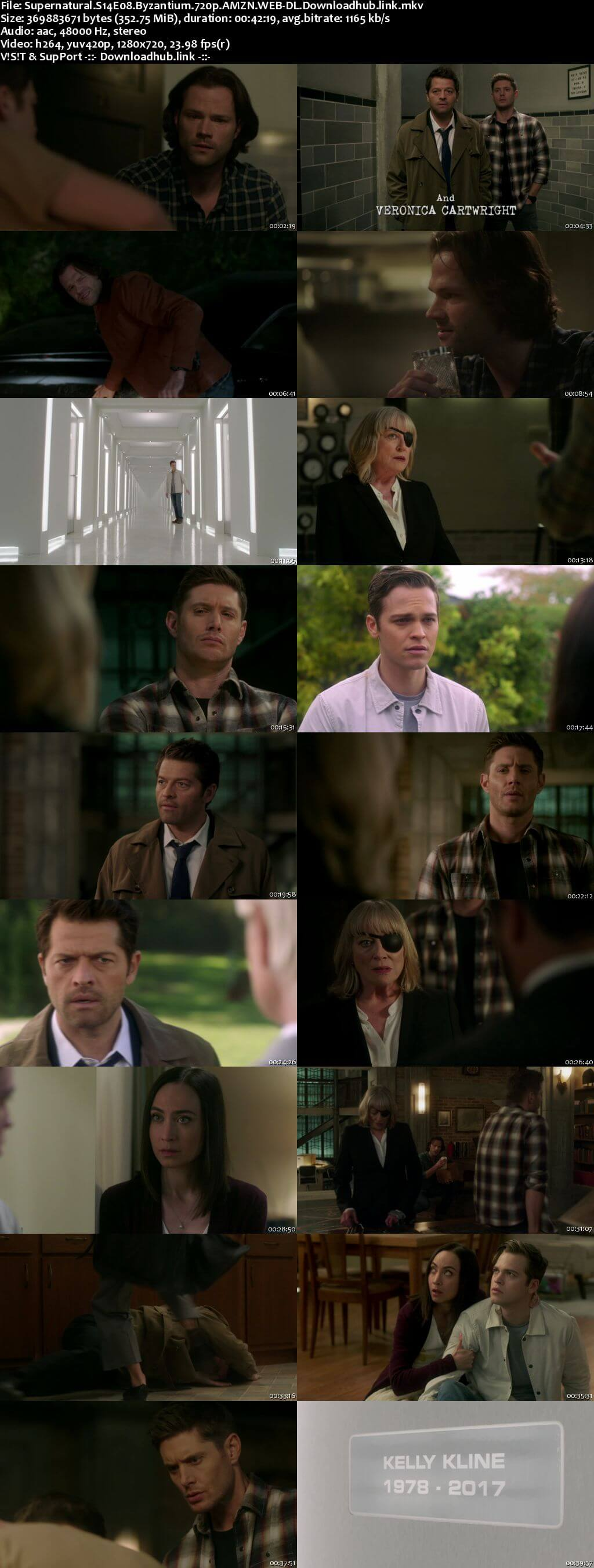 Supernatural S14E08 350MB AMZN Web-DL 720p ESubs