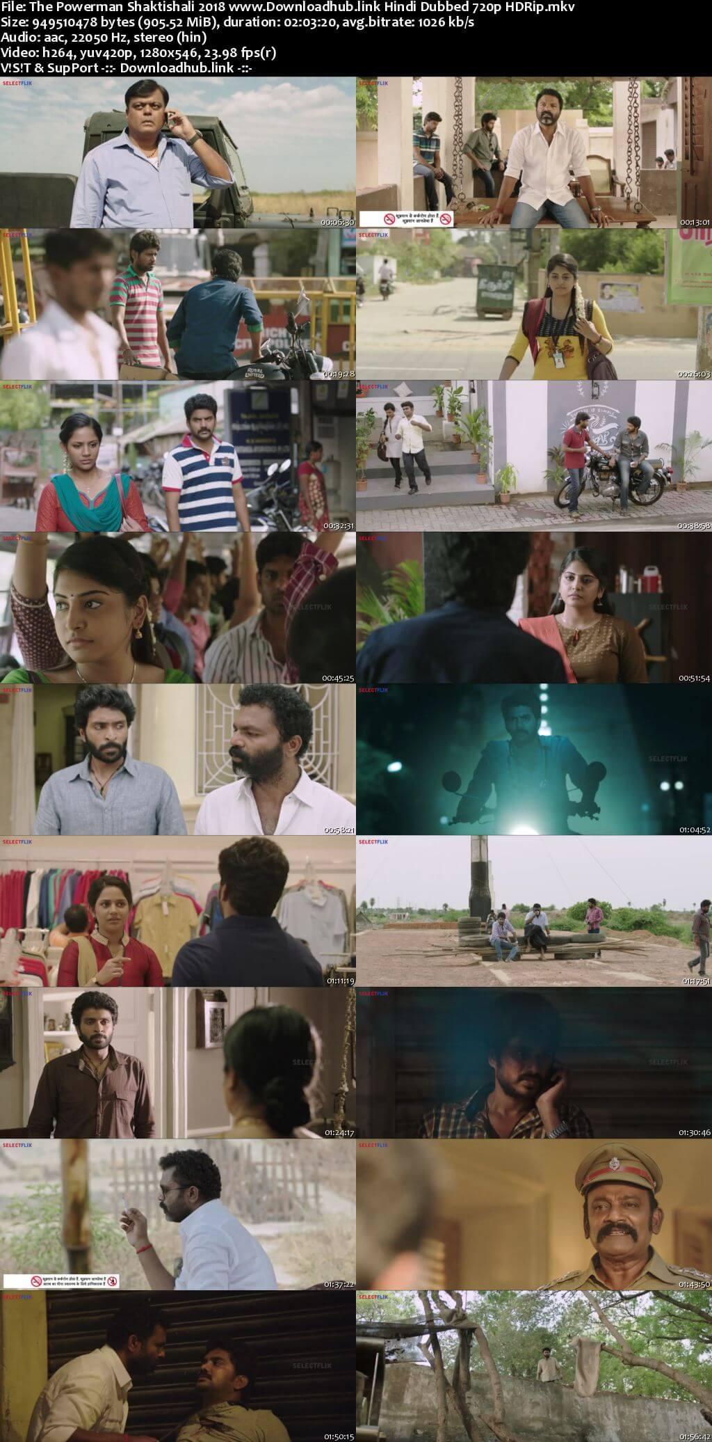 The Powerman Shaktishali 2018 Hindi Dubbed 720p HDRip x264