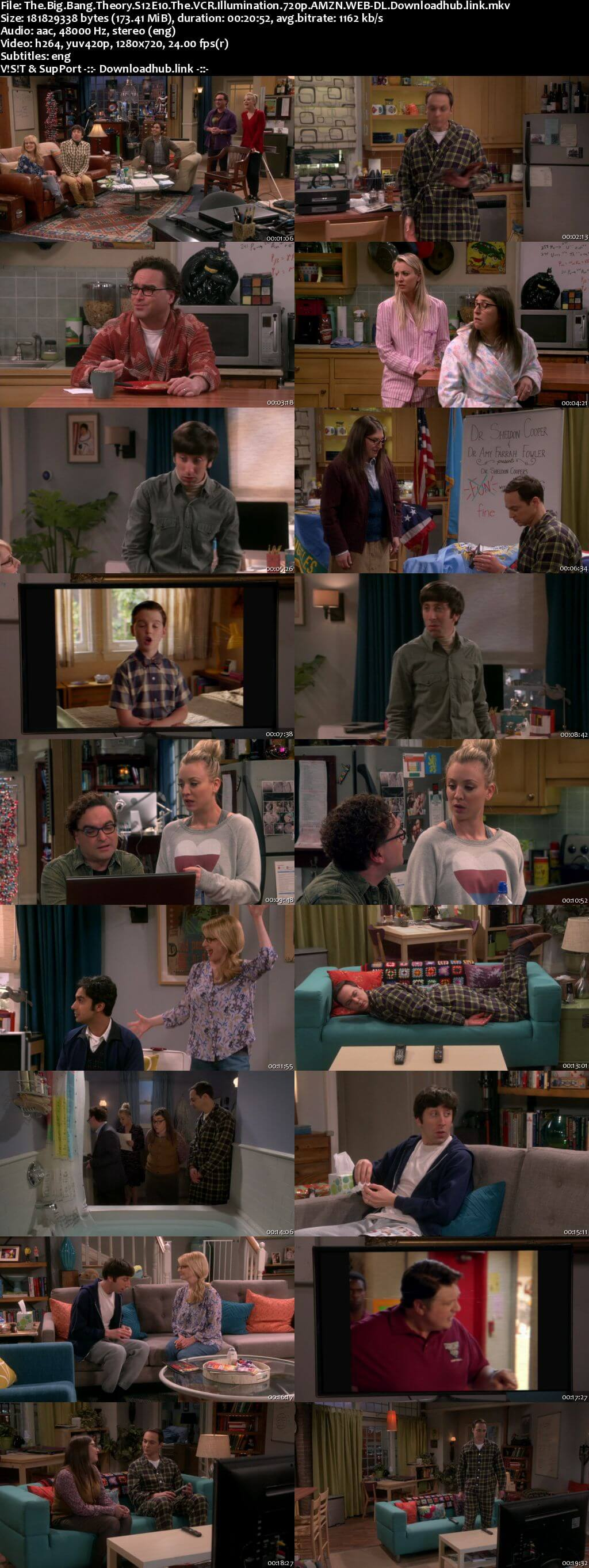 The Big Bang Theory S12E10 170MB AMZN WEB-DL 720p ESubs