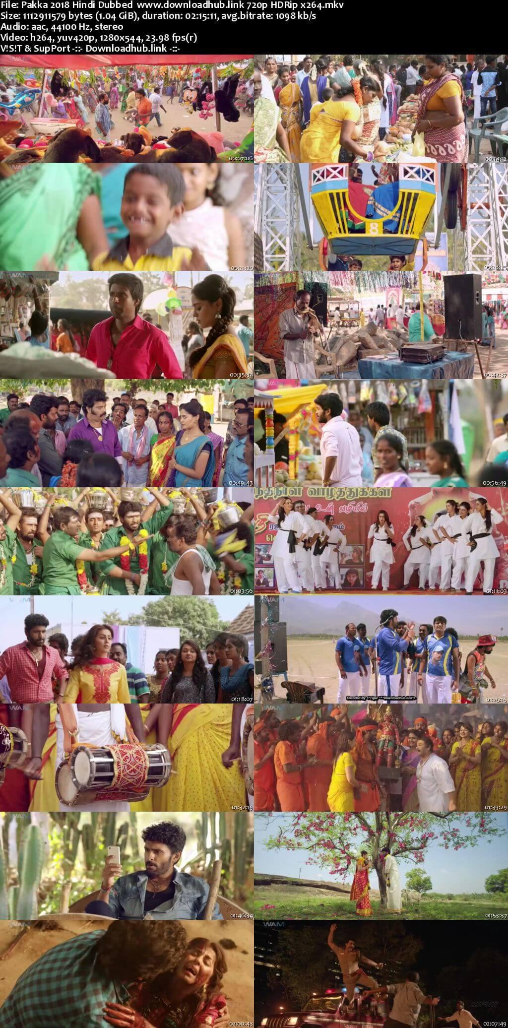 Pakka 2018 Hindi Dubbed 720p HDRip x264