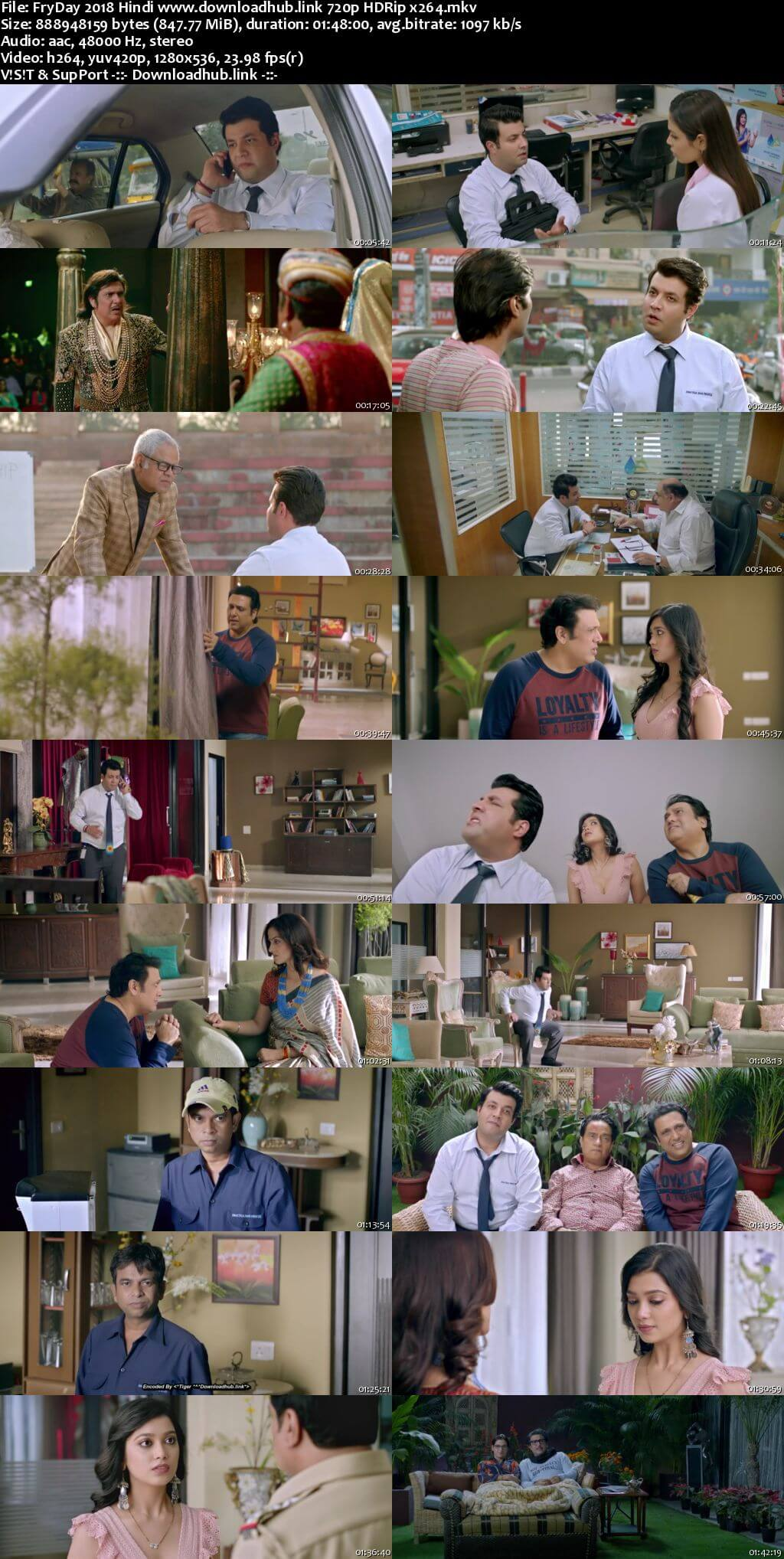 FryDay 2018 Hindi 720p HDRip x264
