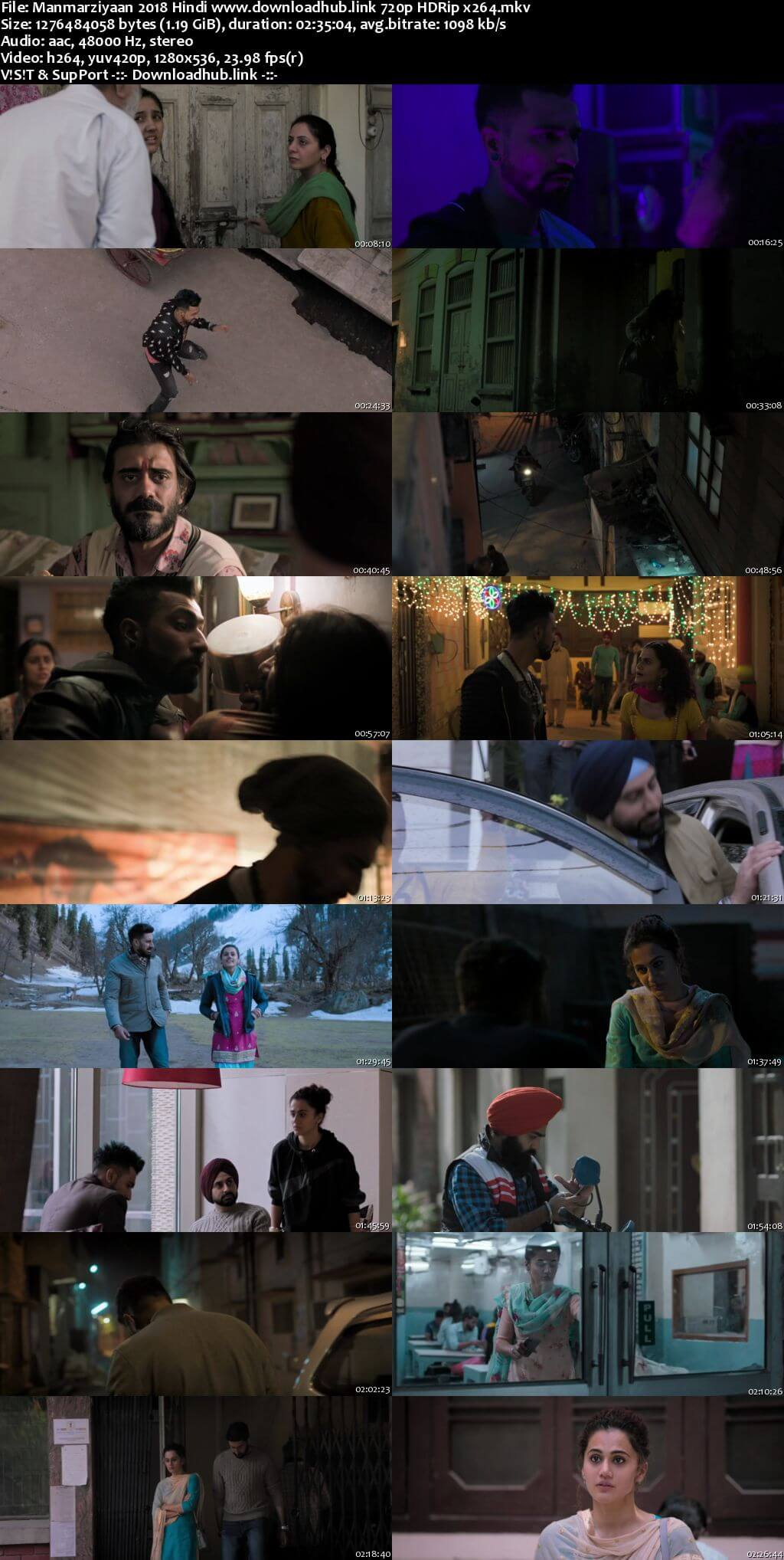 Manmarziyaan 2018 Hindi 720p HDRip x264