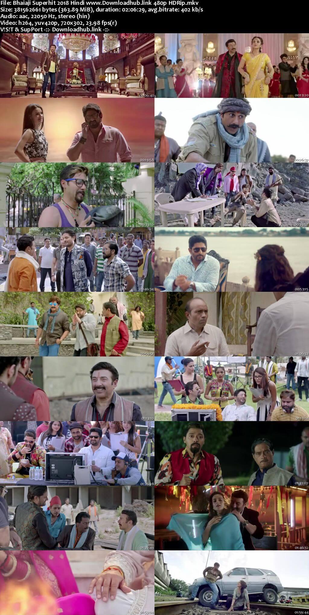 Bhaiaji Superhit 2018 Hindi 350MB HDRip 480p