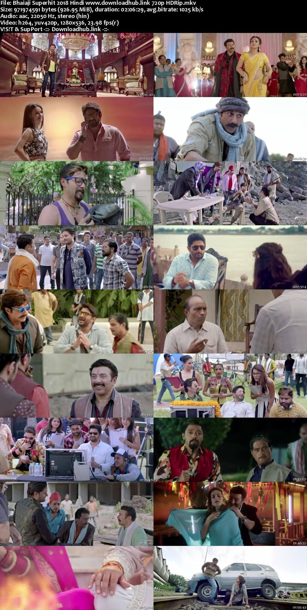 Bhaiaji Superhit 2018 Hindi 720p HDRip x264