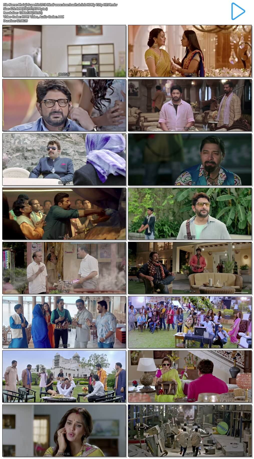 Bhaiaji Superhit 2018 Hindi 600MB HDRip 720p HEVC