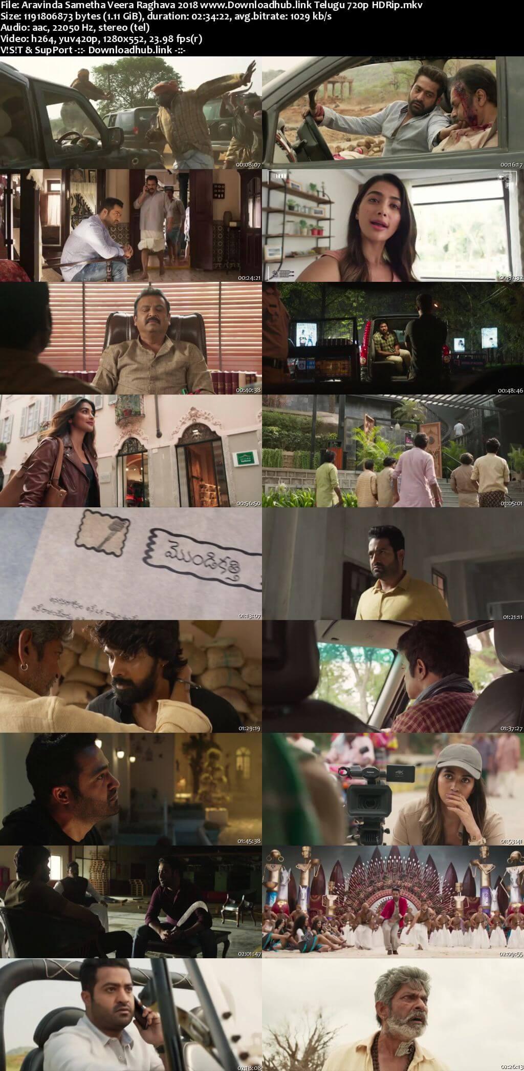 Aravindha Sametha Veera Raghava 2018 Telugu 720p HDRip x264