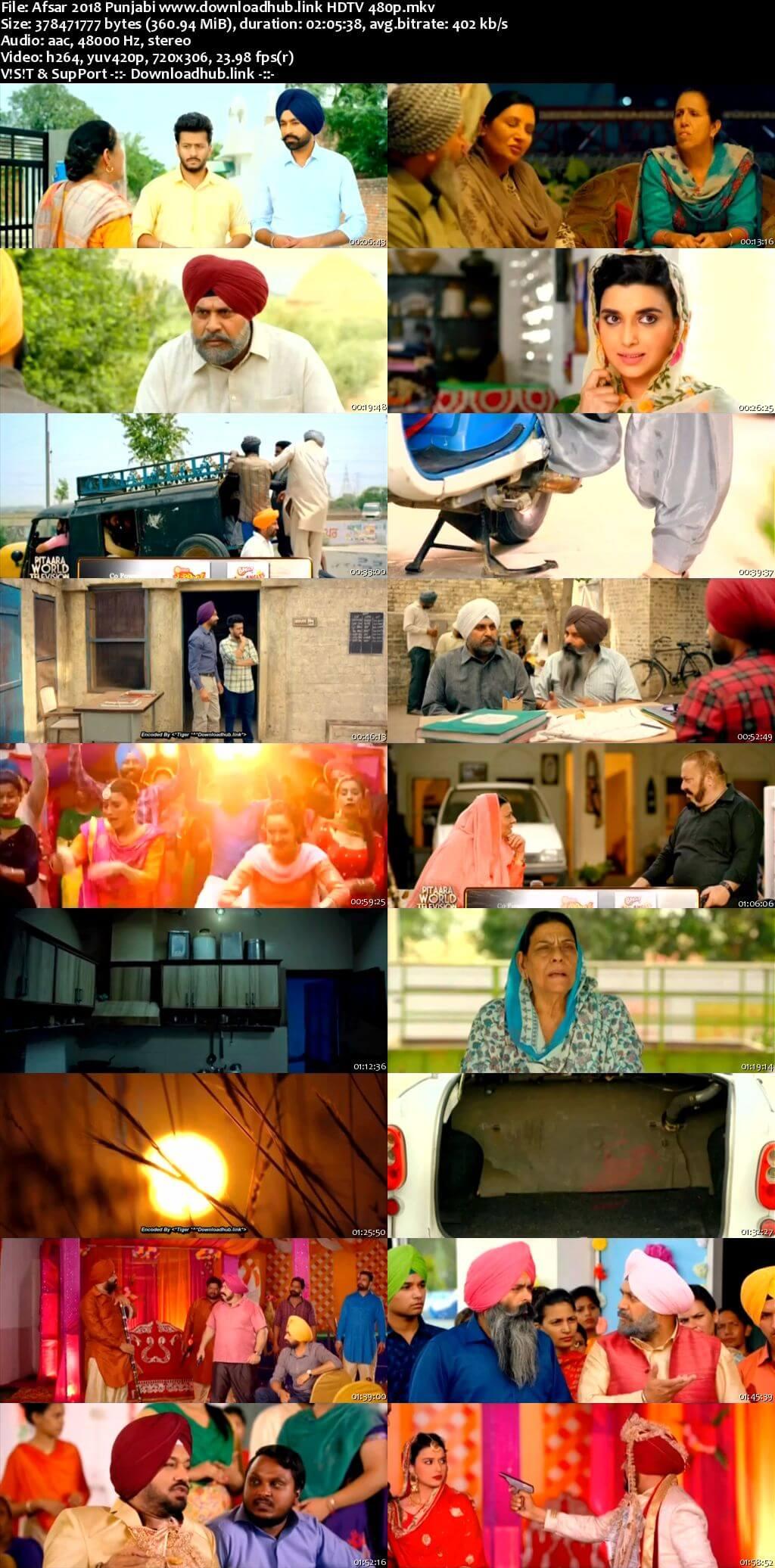 Afsar 2018 Punjabi 350MB HDTV 480p