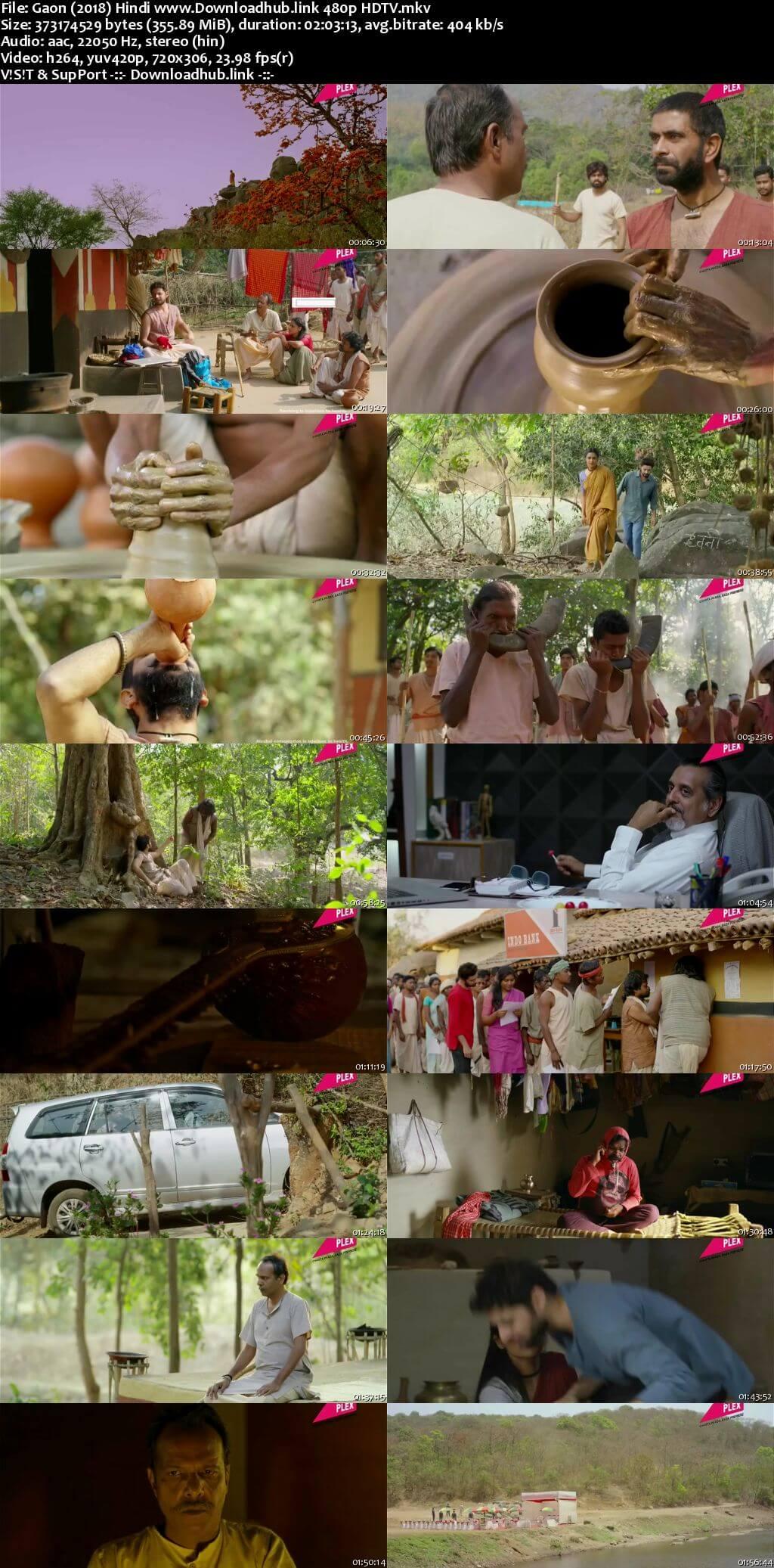 Gaon 2018 Hindi 350MB HDTV 480p