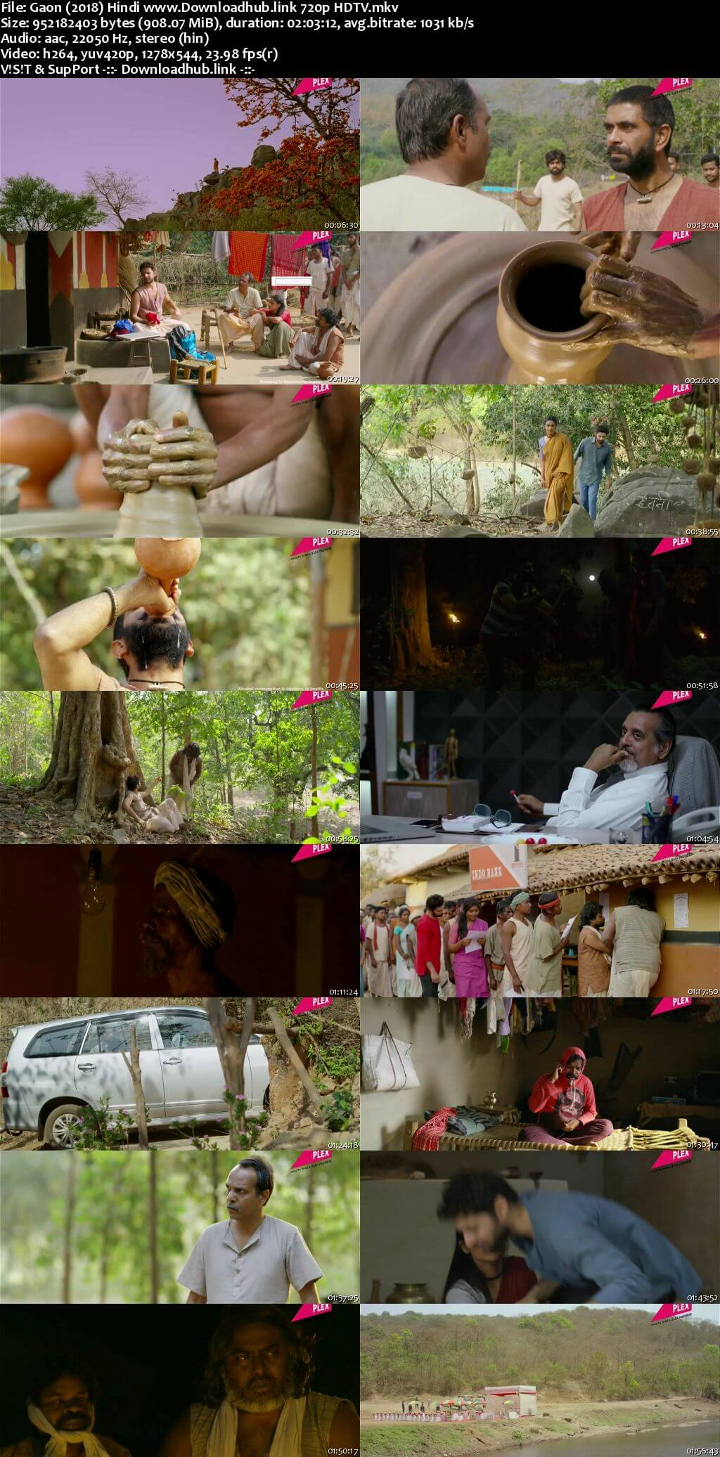 Gaon 2018 Hindi 720p HDTV x264