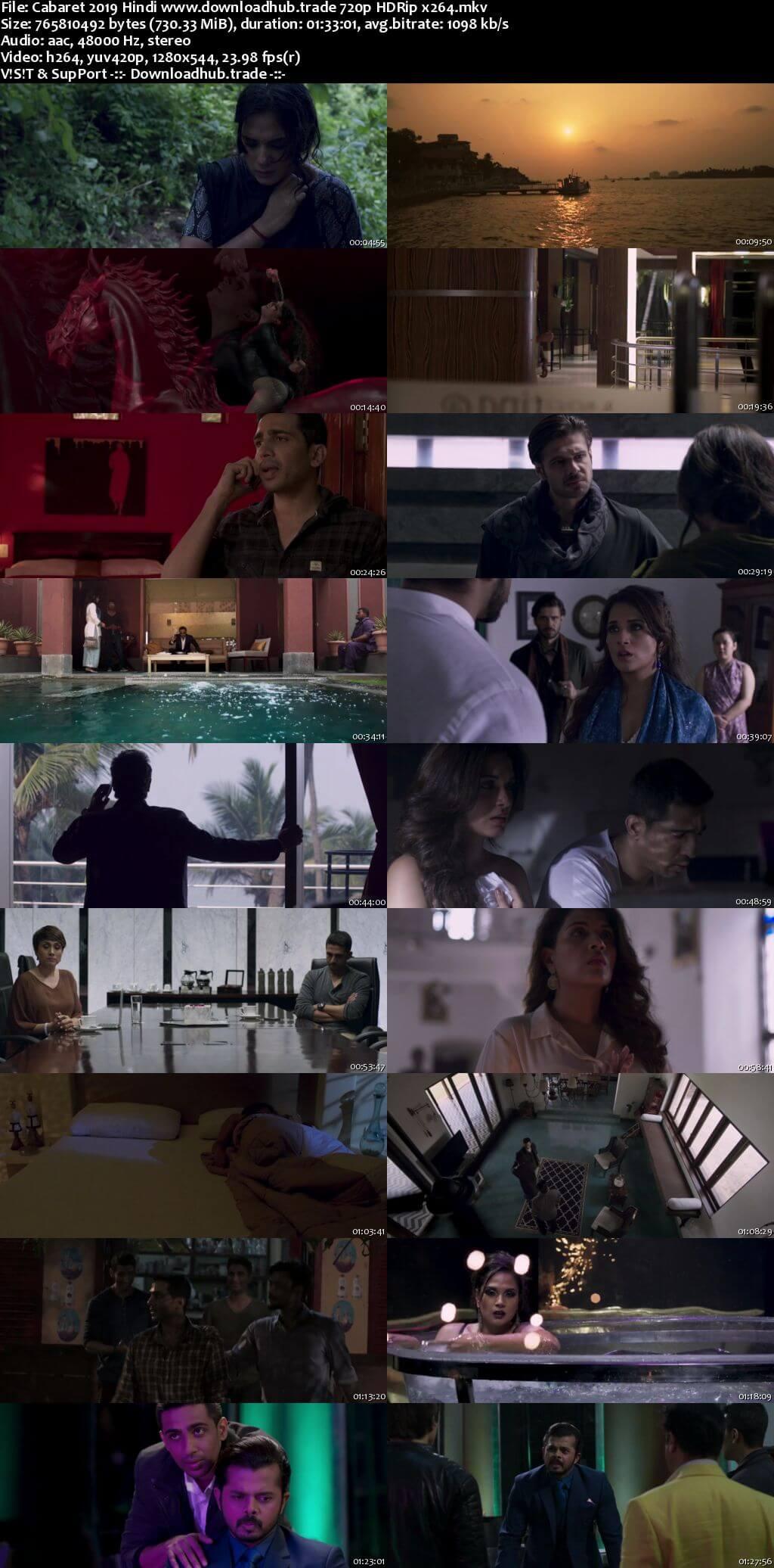 Cabaret 2019 Hindi 720p HDRip x264