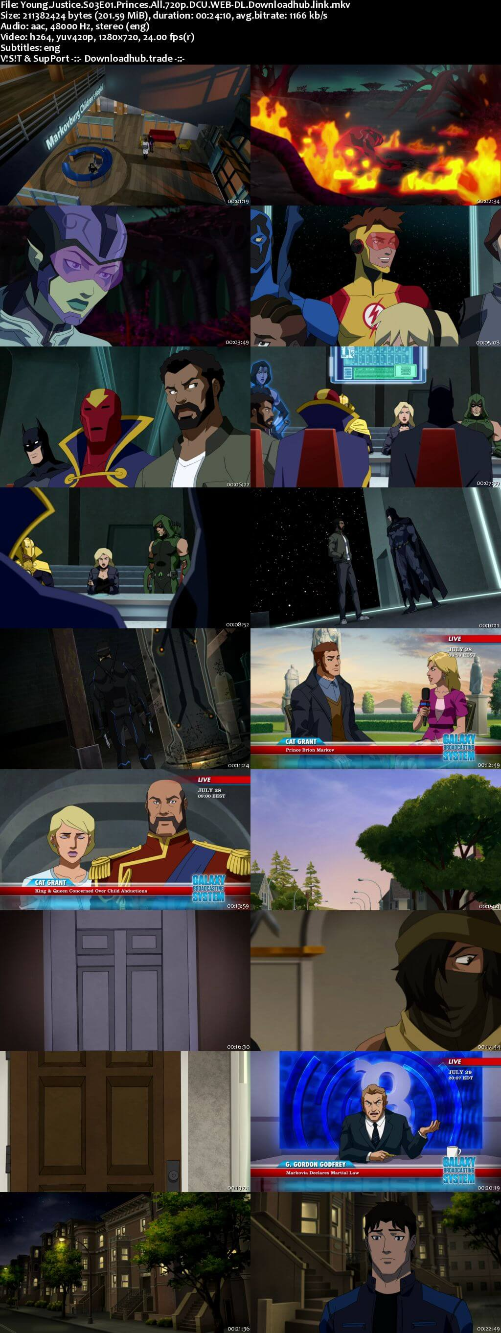 Young Justice S03E01 200MB DCU WEB-DL 720p ESubs
