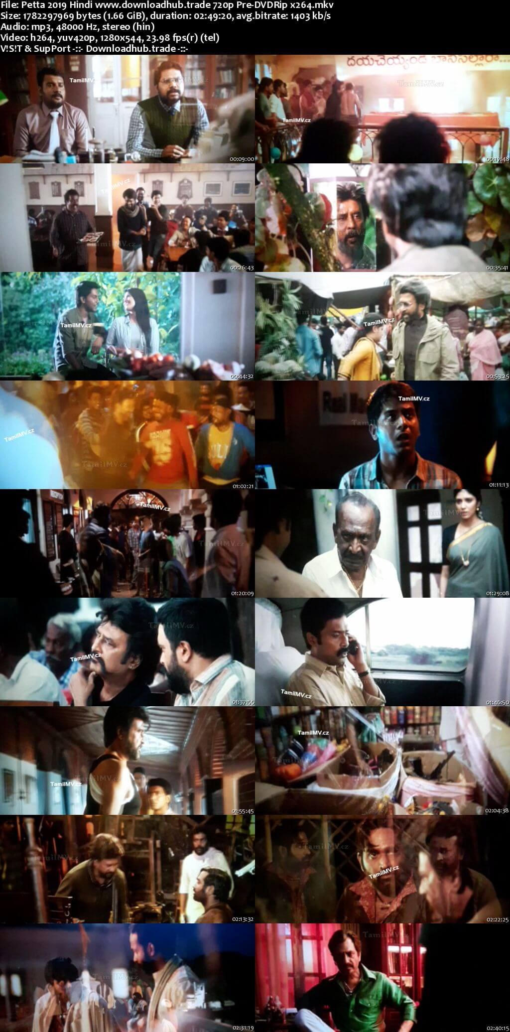 Petta 2019 Hindi 720p Pre-DVDRip x264