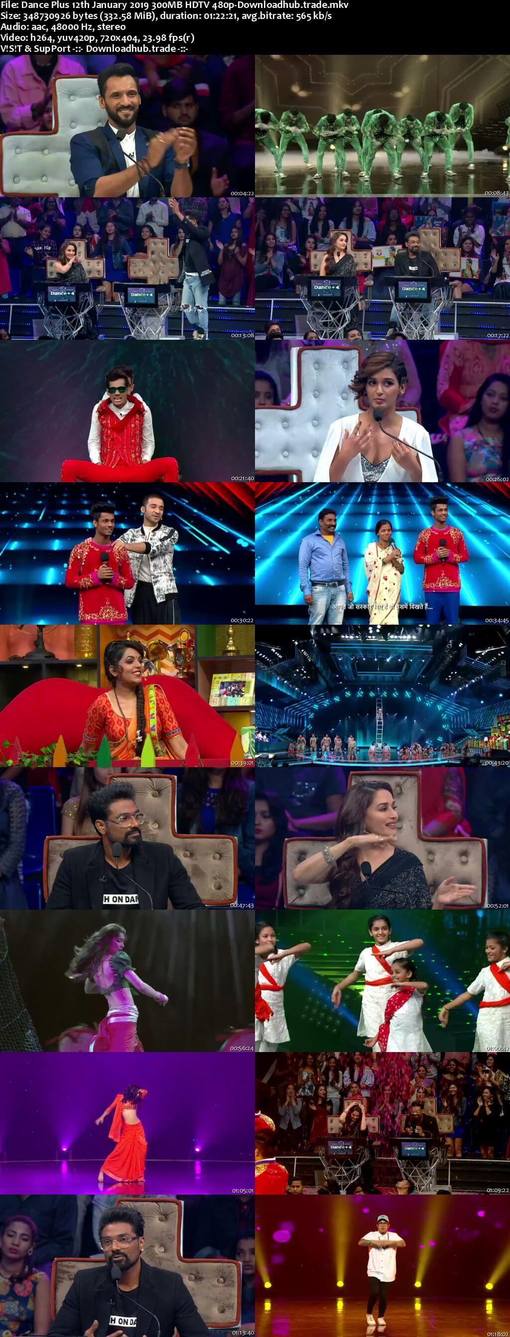 Dance Plus Season 4 12 January 2019 Episode 28 HDTV 480p